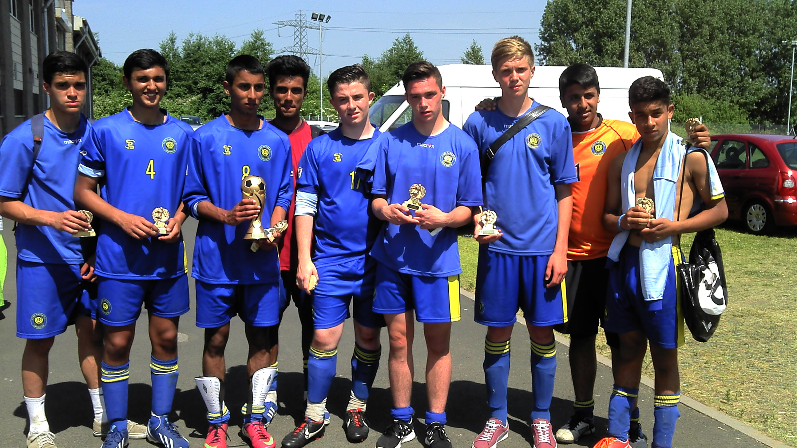 2013 Under 16's Birmingham Tournament Runners Up