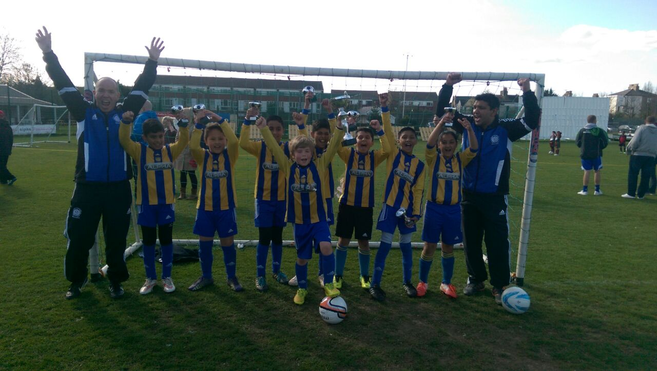 Under 10's NKYFL Challenge Cup Winners 2015