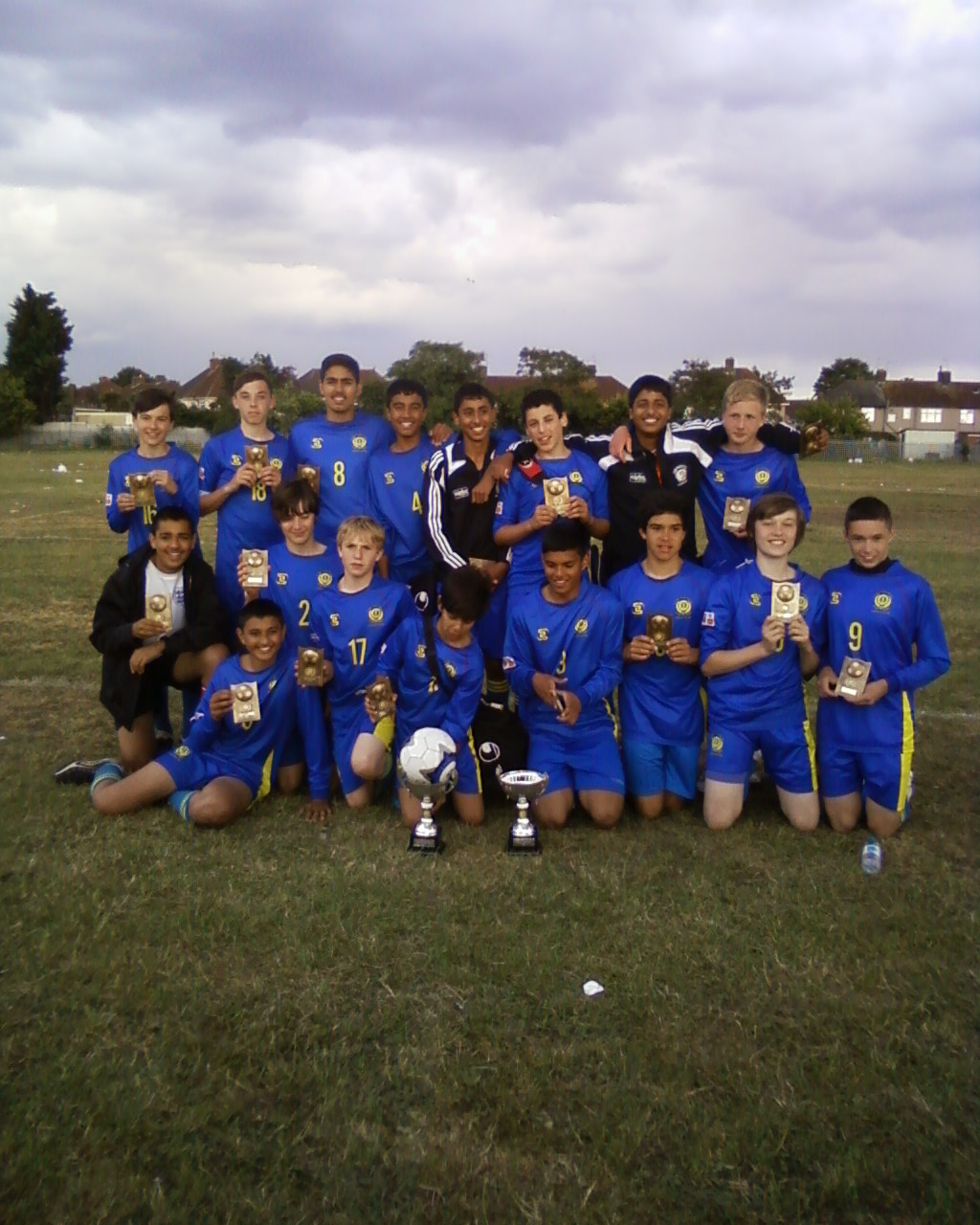 Under 14's Double Winners at Barking Tournament 2011