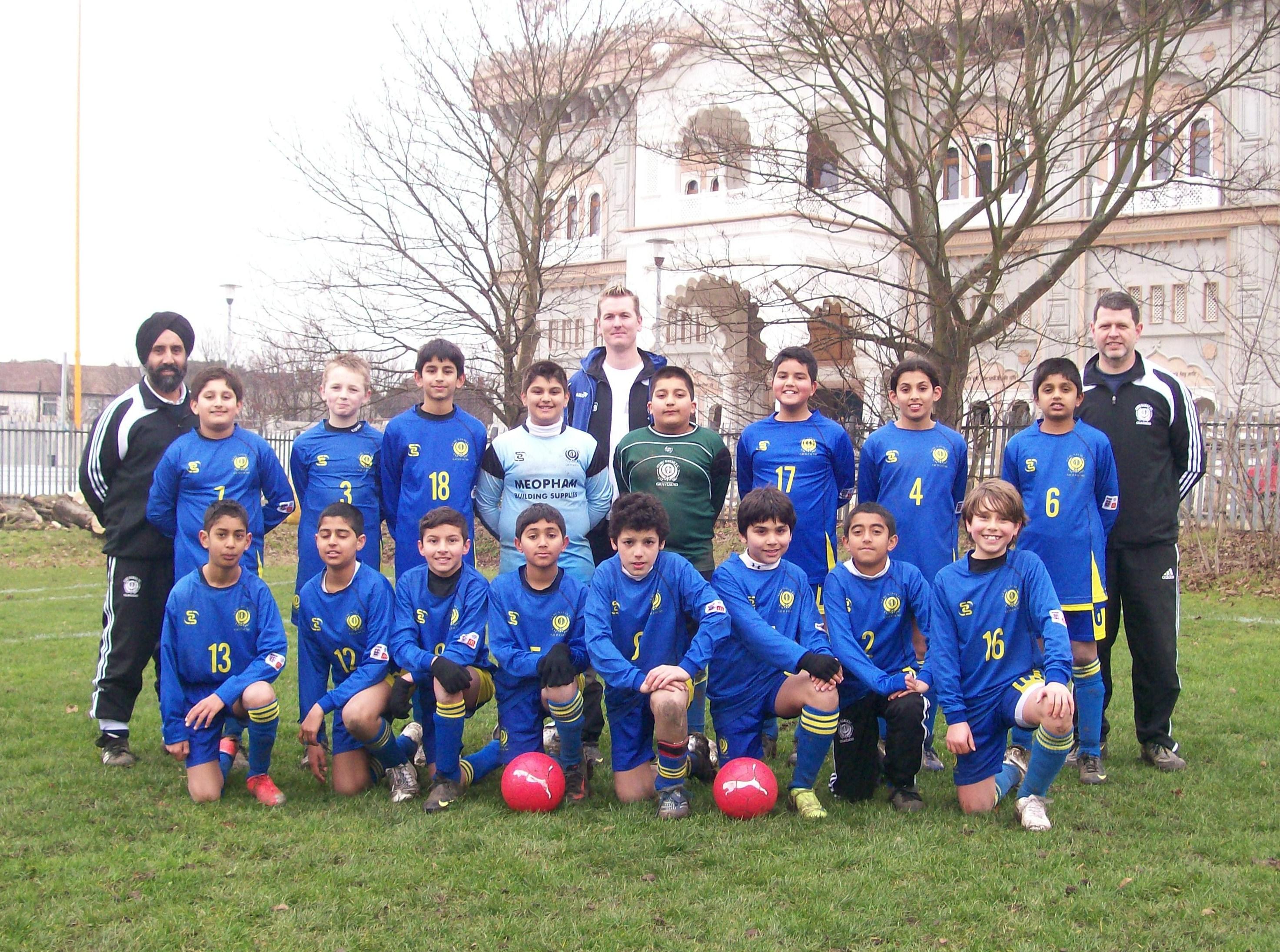 Under 11's Team Photo 2009-10