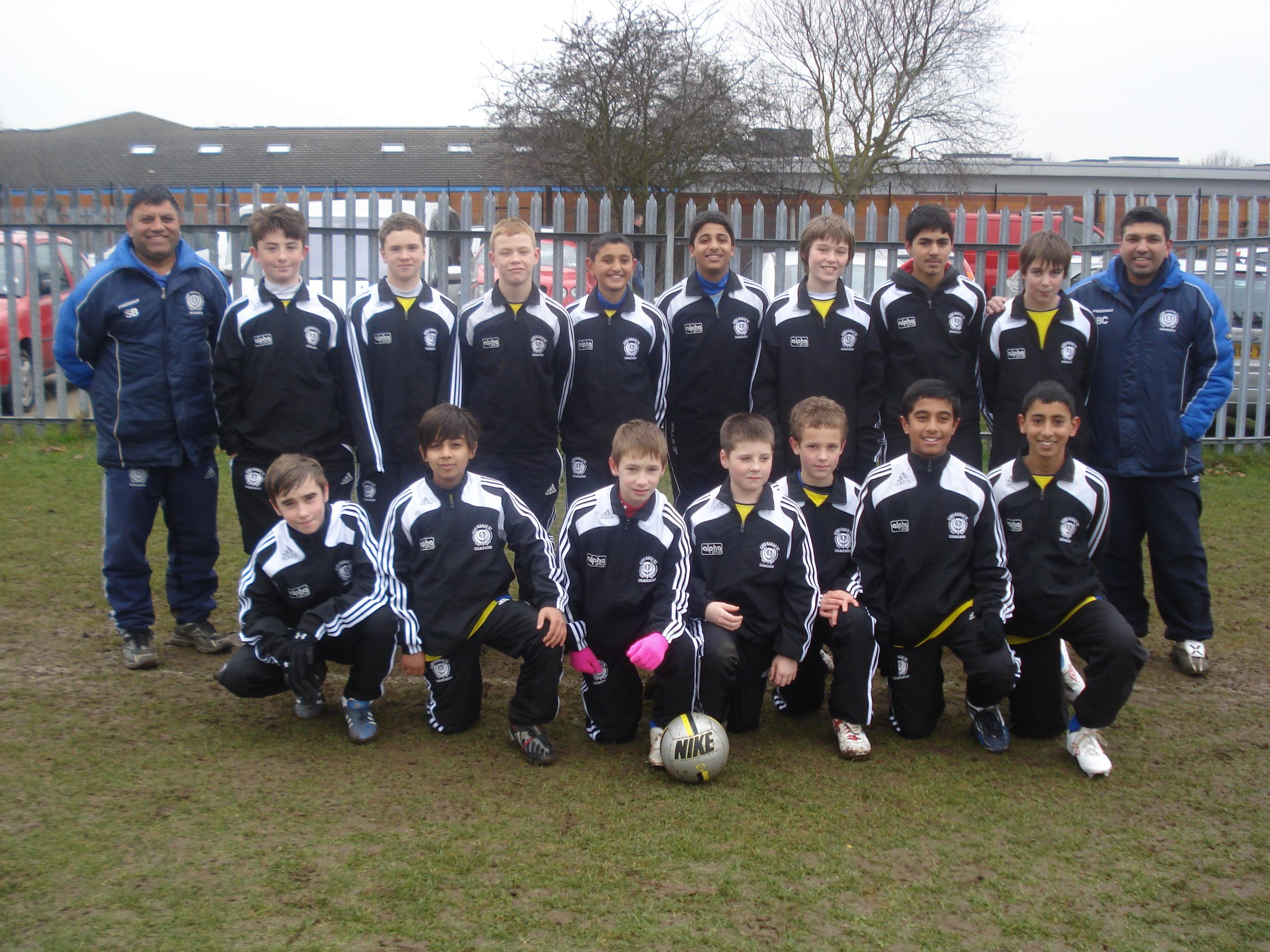 Under 13's Team Photo 2009-10