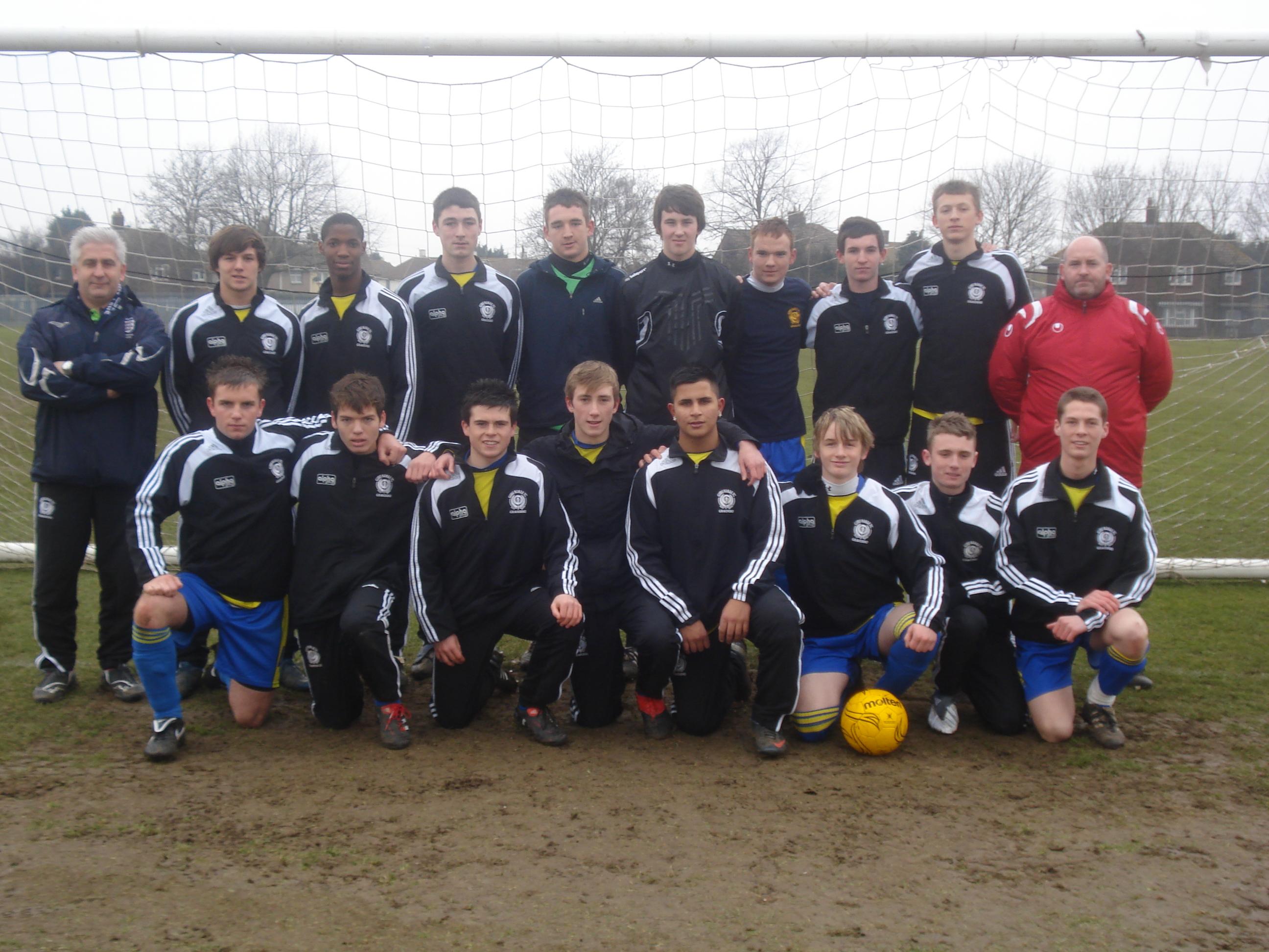 Under 16's Team Photo 2009-10