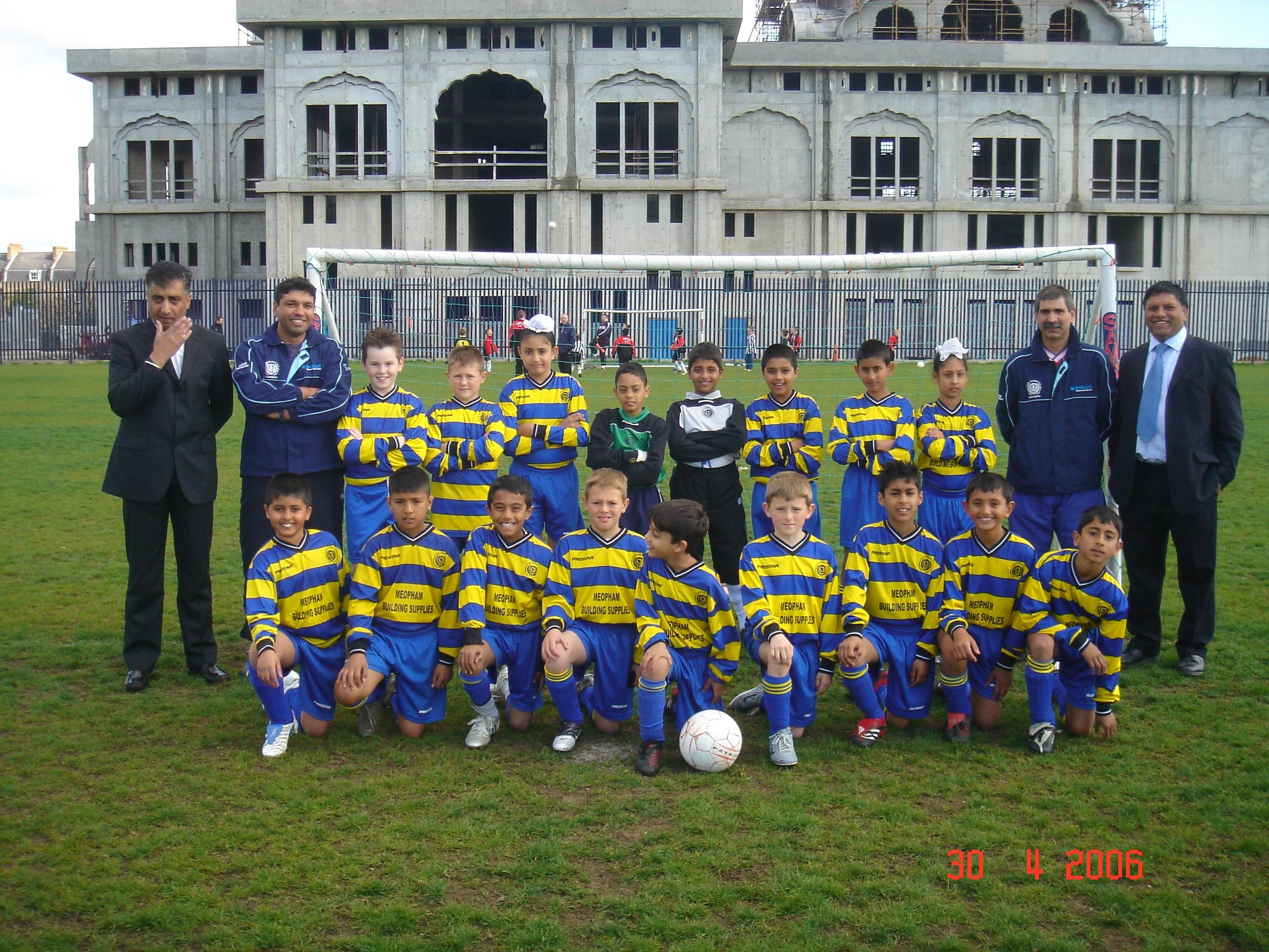 Under 10's Team 2005/06