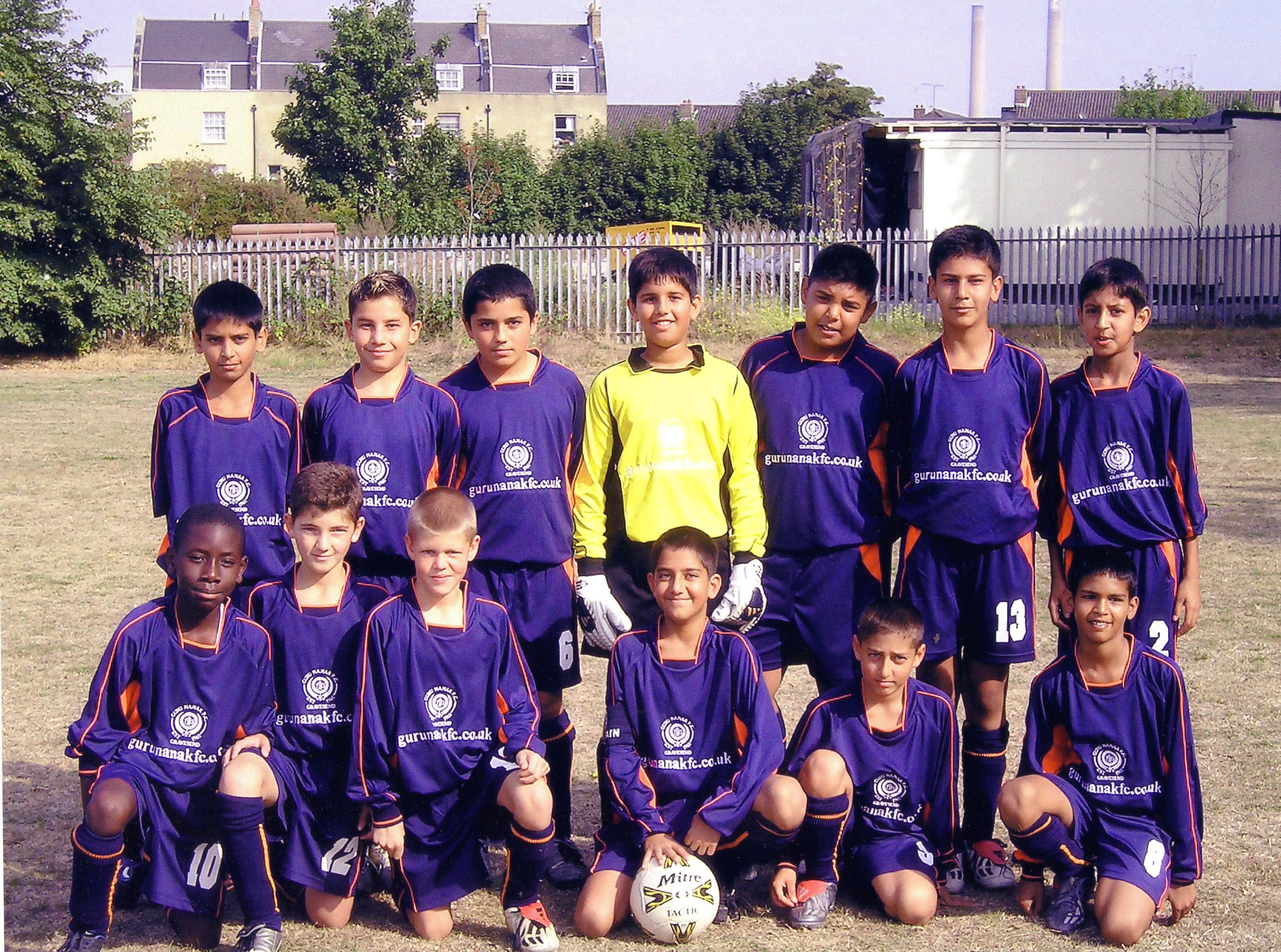 Under 12's 2003/04