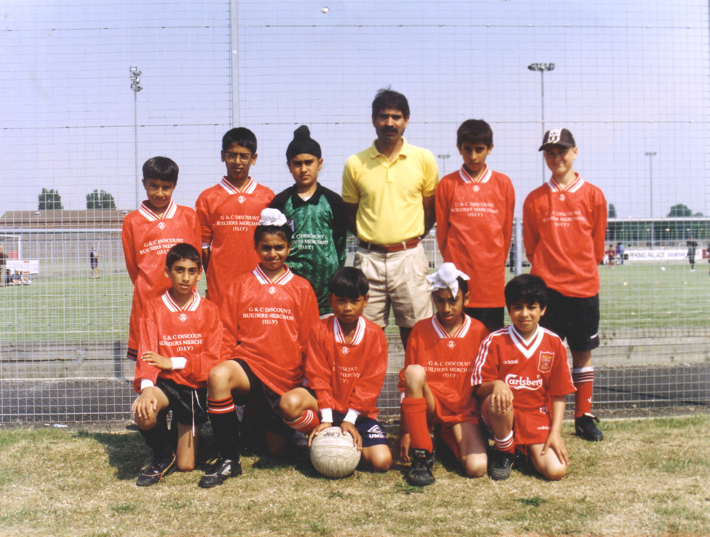 Guru Nanak Youth - Manager Guy Dale- Year unknown