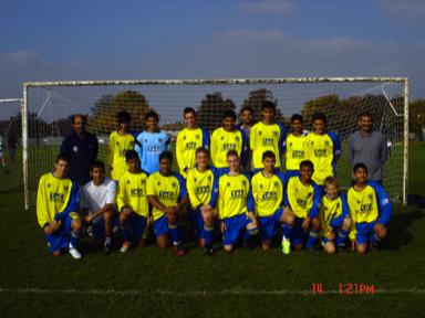 Under 18s 2008/09