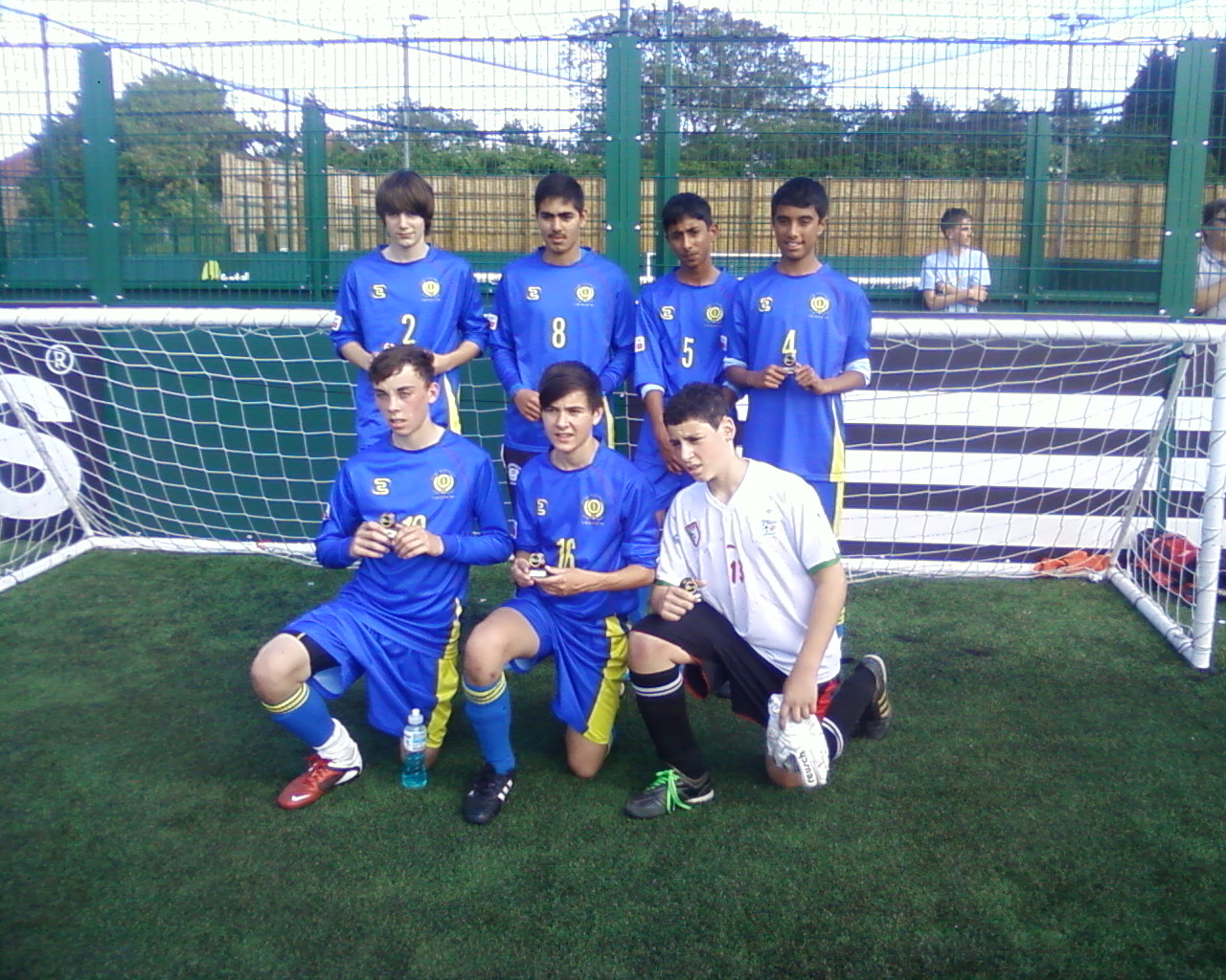 2011 Under 14's - Kent FA 5-a-side Runners Up
