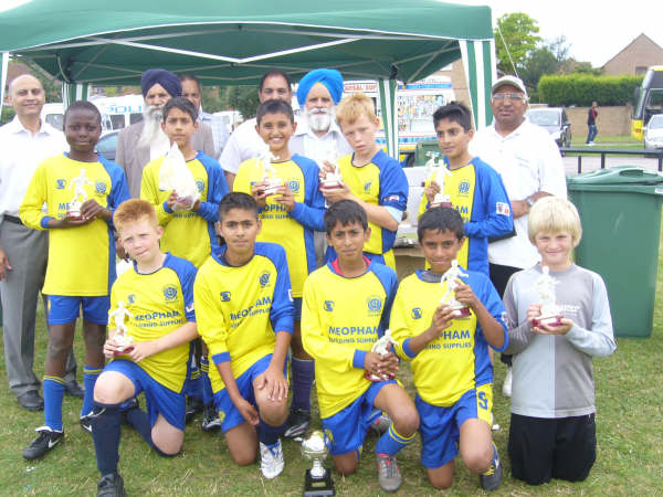 U11's Bedford Tournament  Winners 2008
