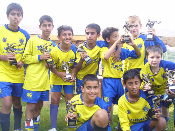 U11's Birmingham Tournament  Winners 2008