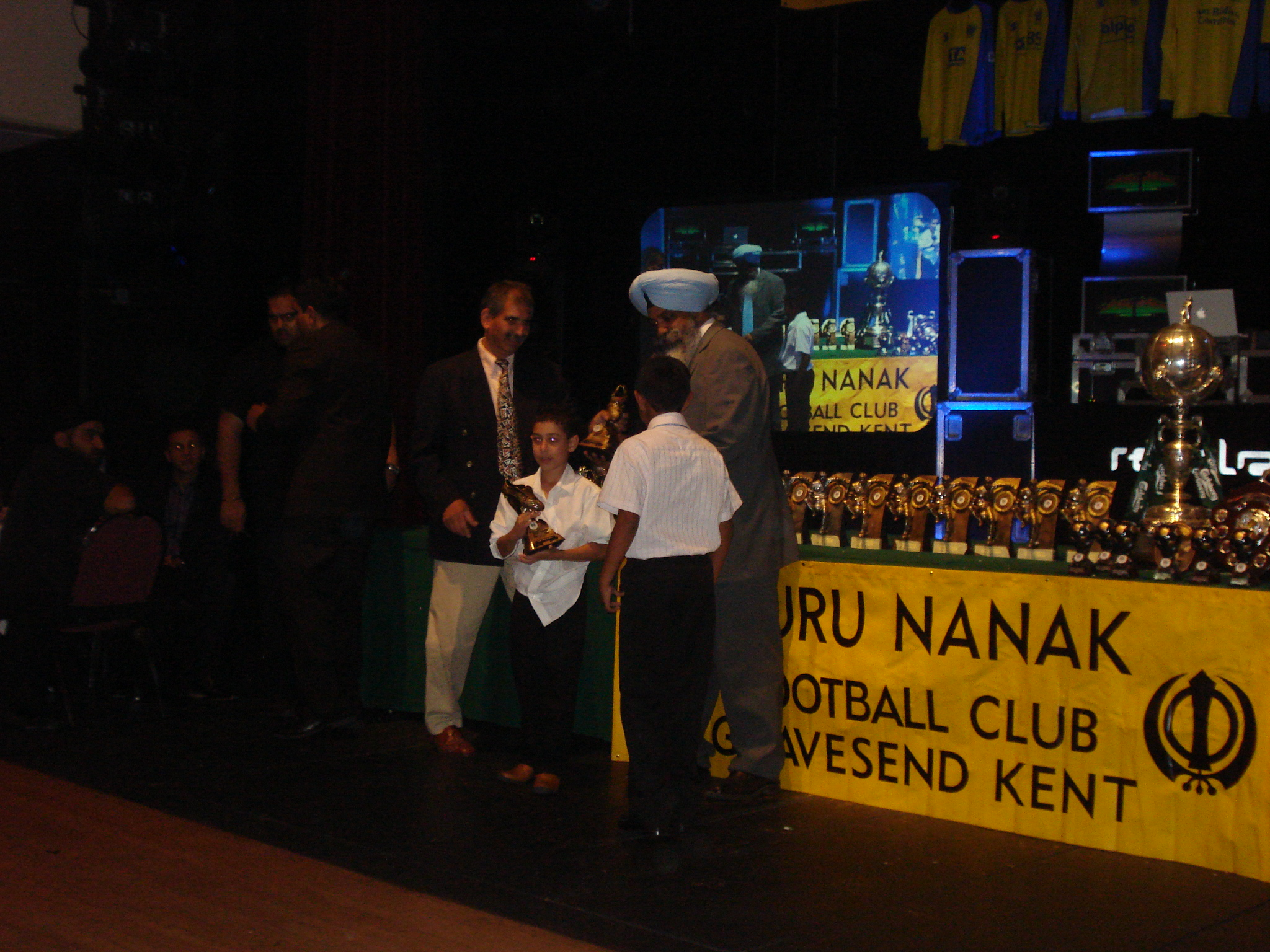 2008 Under 8's Top Goal Scorer - Hardeep Manu (17 goals)