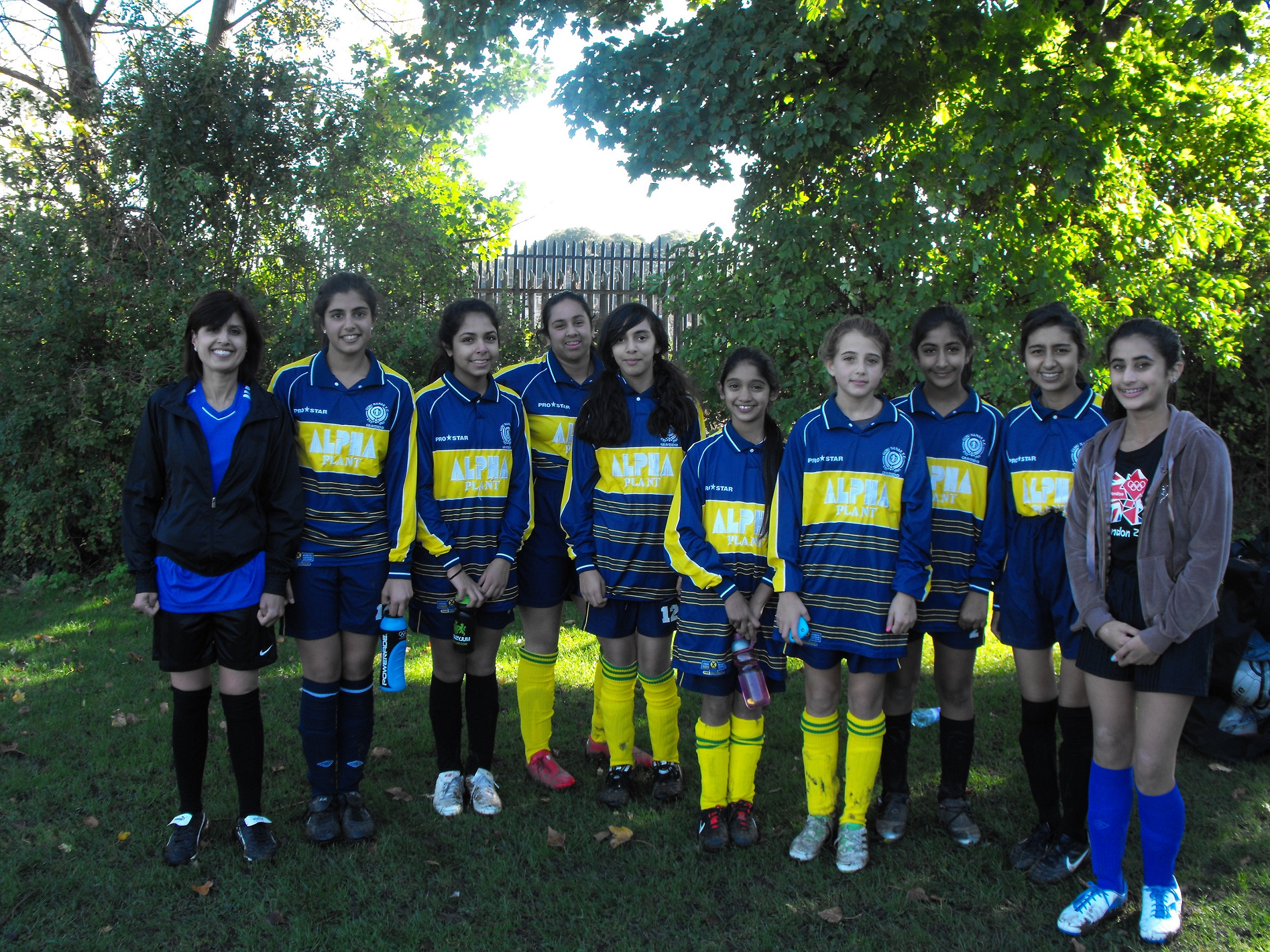 First Ever Girls GNG Team Oct 2012