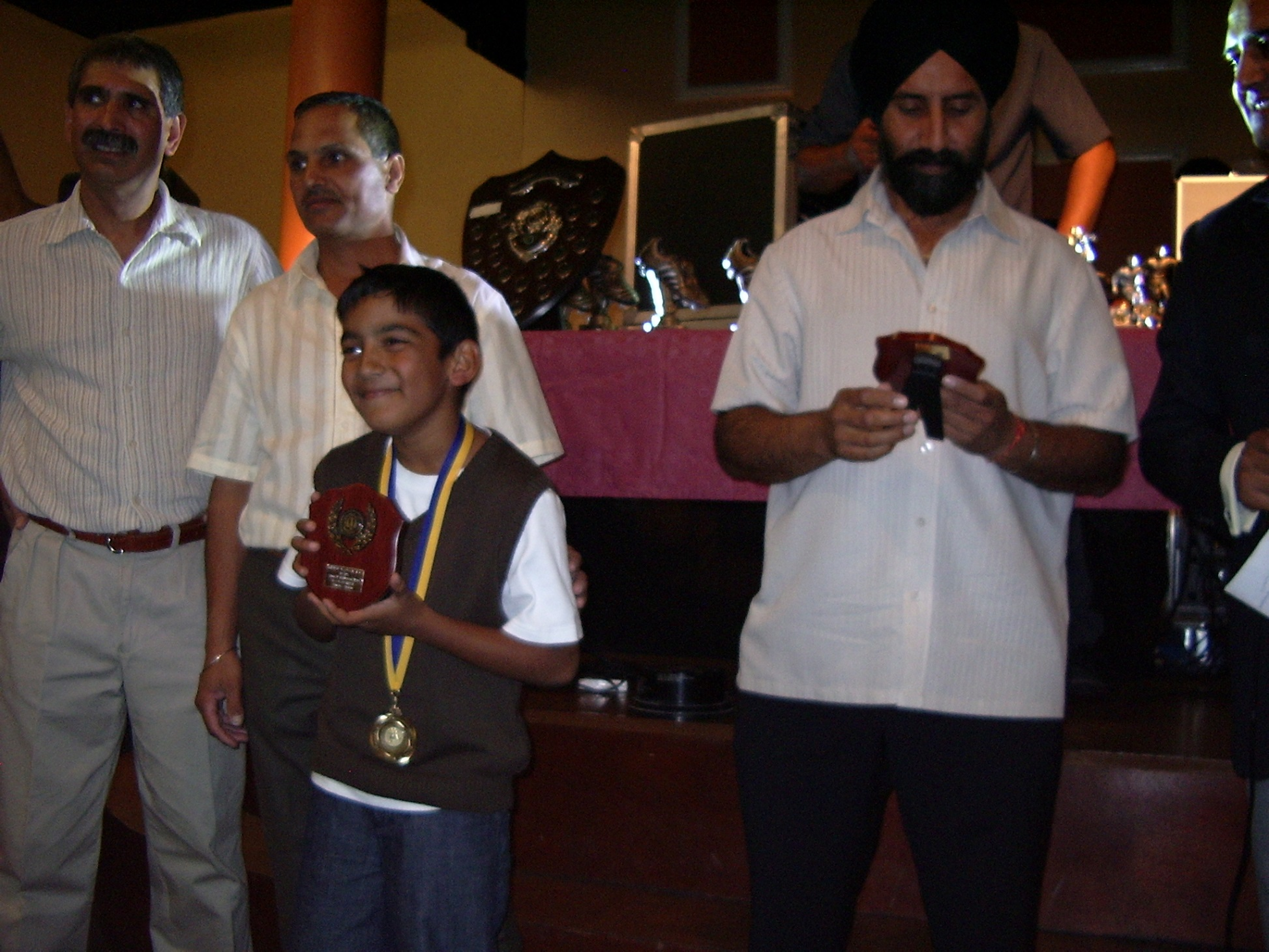 Under 8's Most Improved Player - Rajan Gill