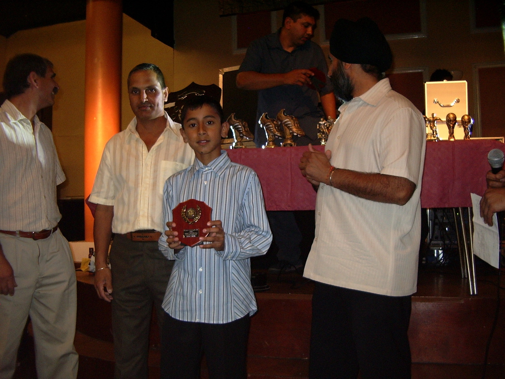 Under 9's Most Improved Player - Suniel Bhatti