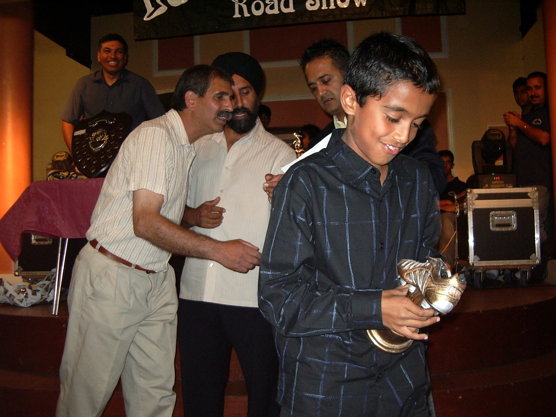 Under 9's Player Of The Year - Arun Suman