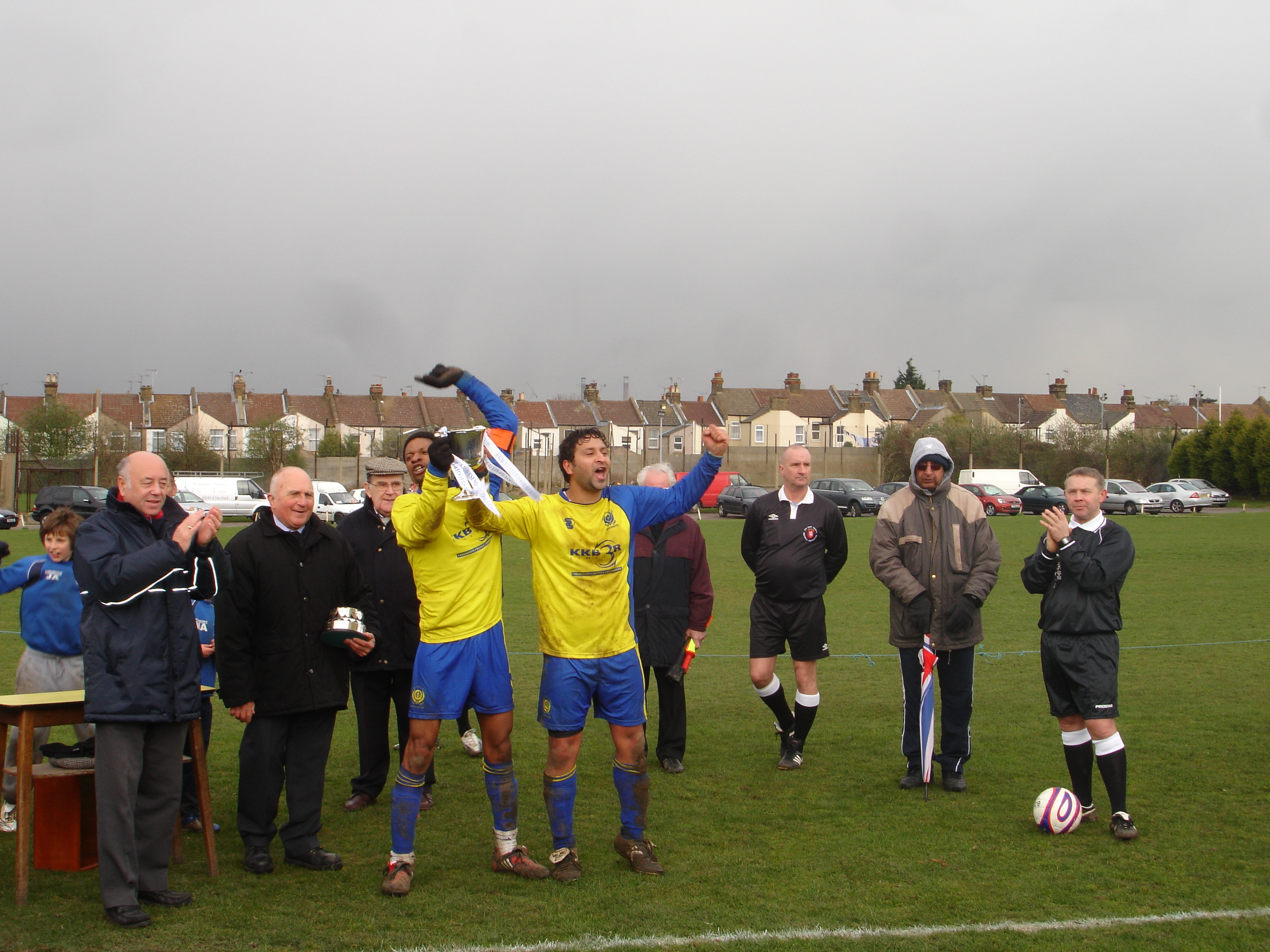 League Cup A winners 2008