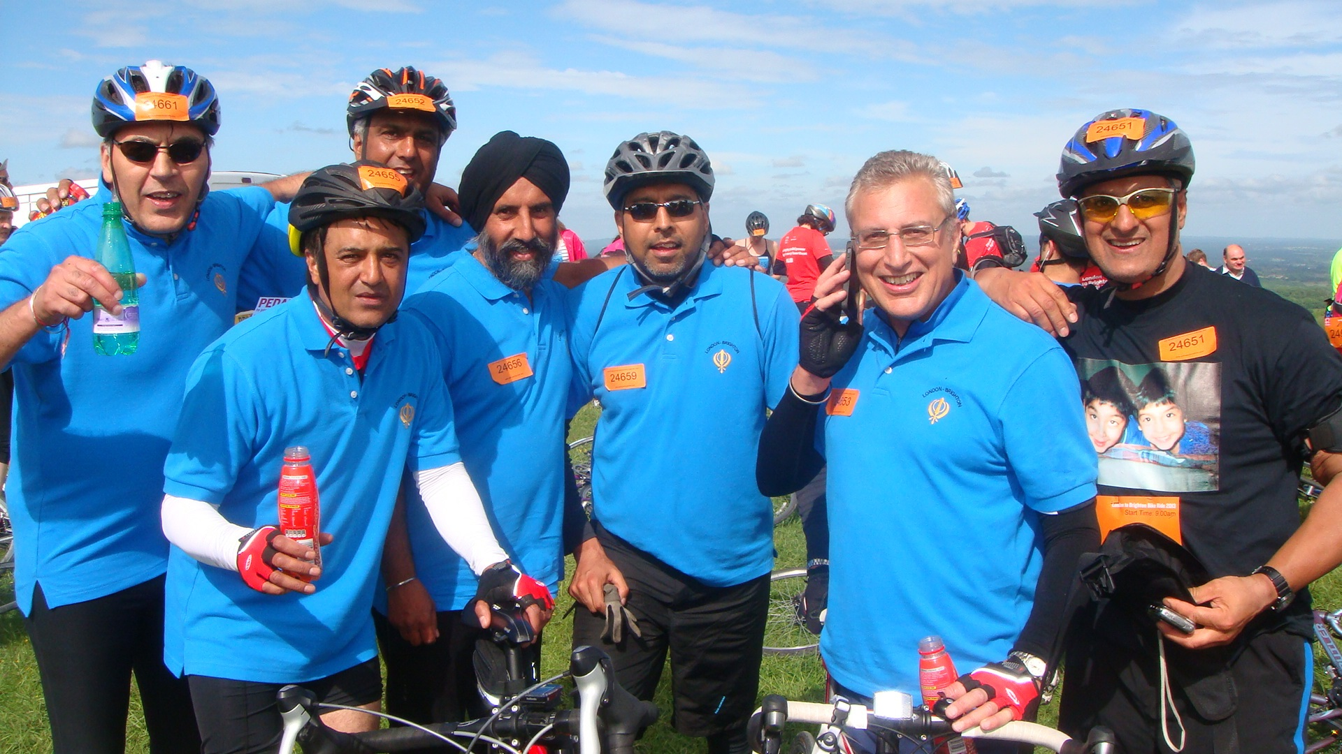 London to Brighton Charity Bike Ride - June 2014 B