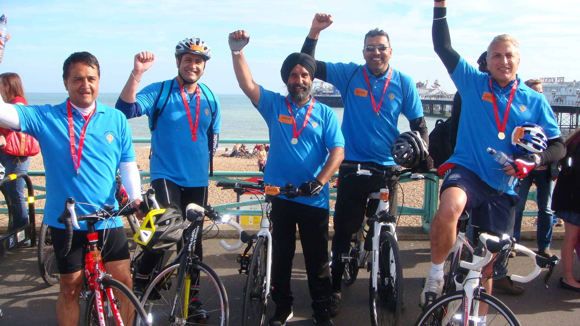 London to Brighton Charity Bike Ride - June 2014 C