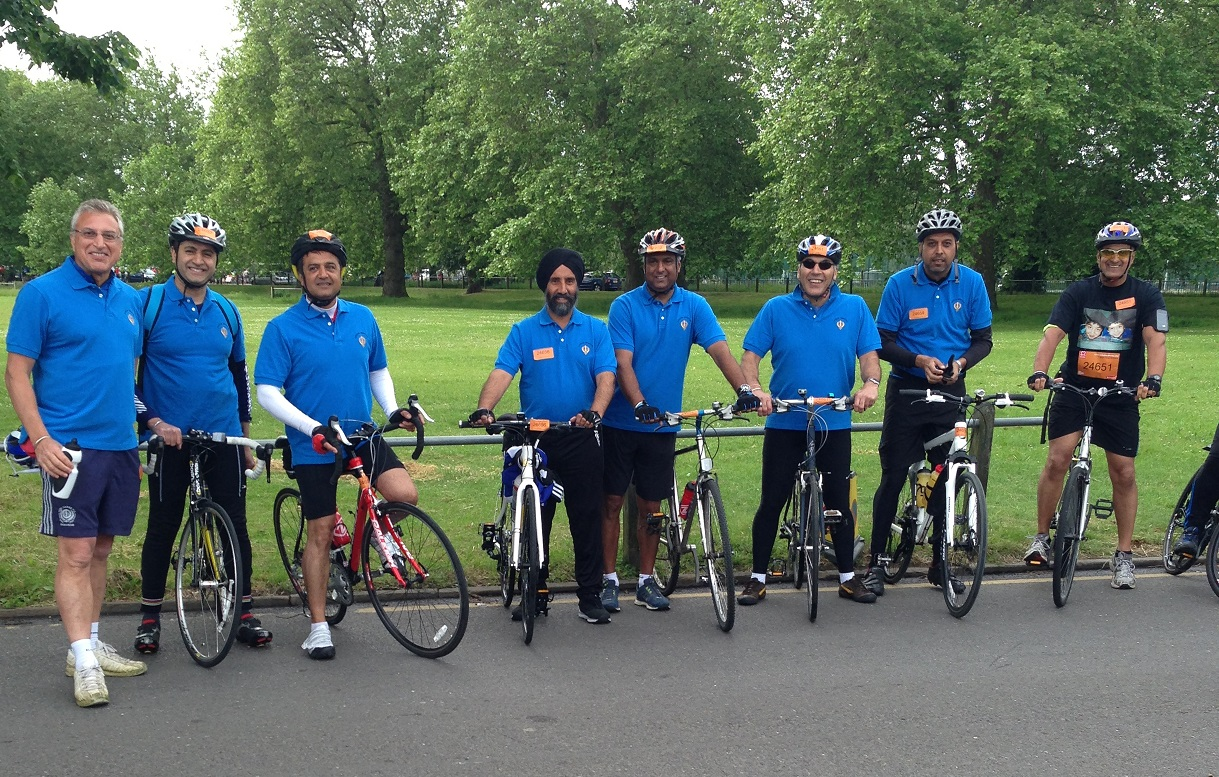 London to Brighton Charity Bike Ride - June 2014