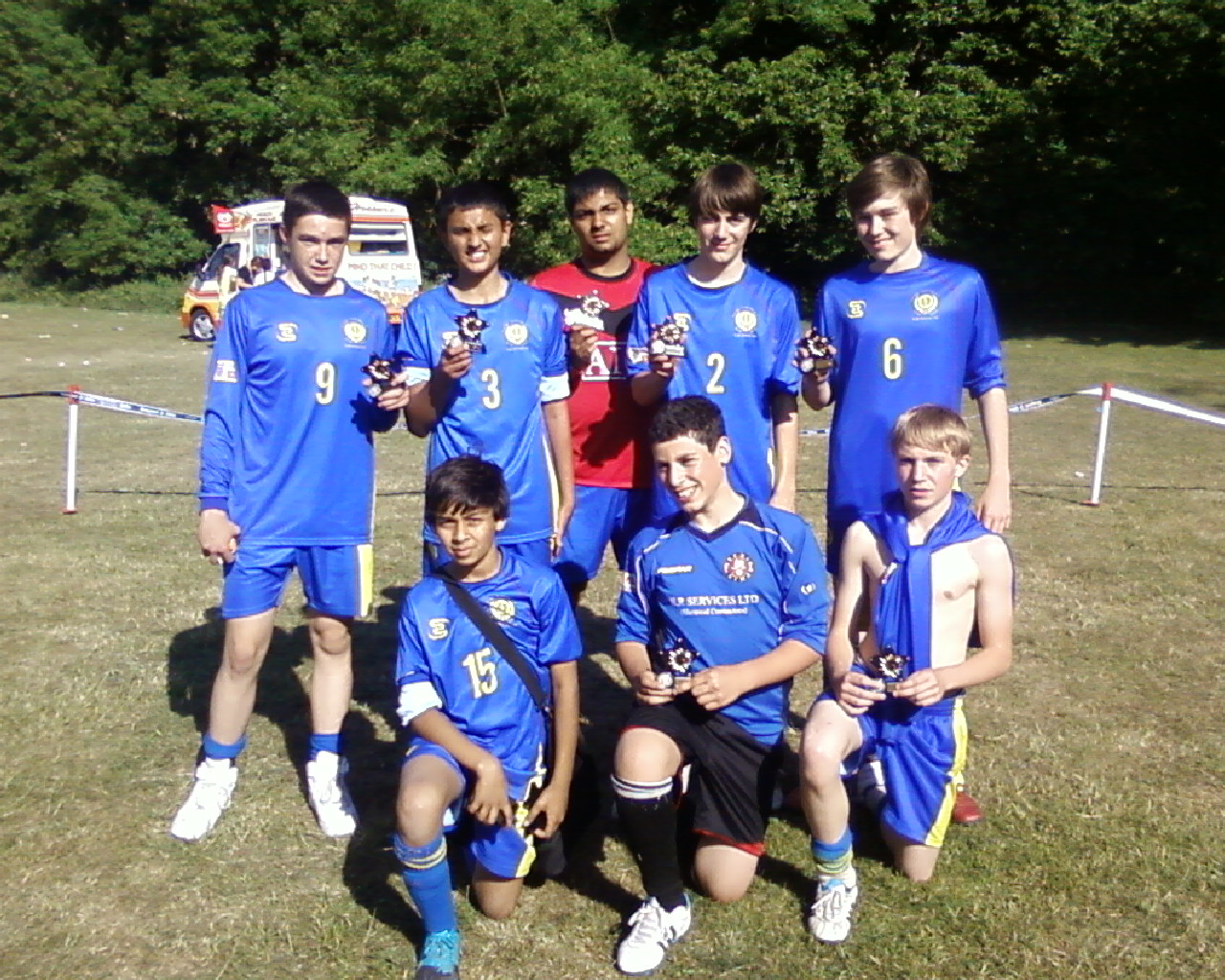 2011 Under 14's Barming Tournament Winners