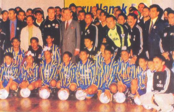 Prince Charles visit to Guru Nanak FC 1998