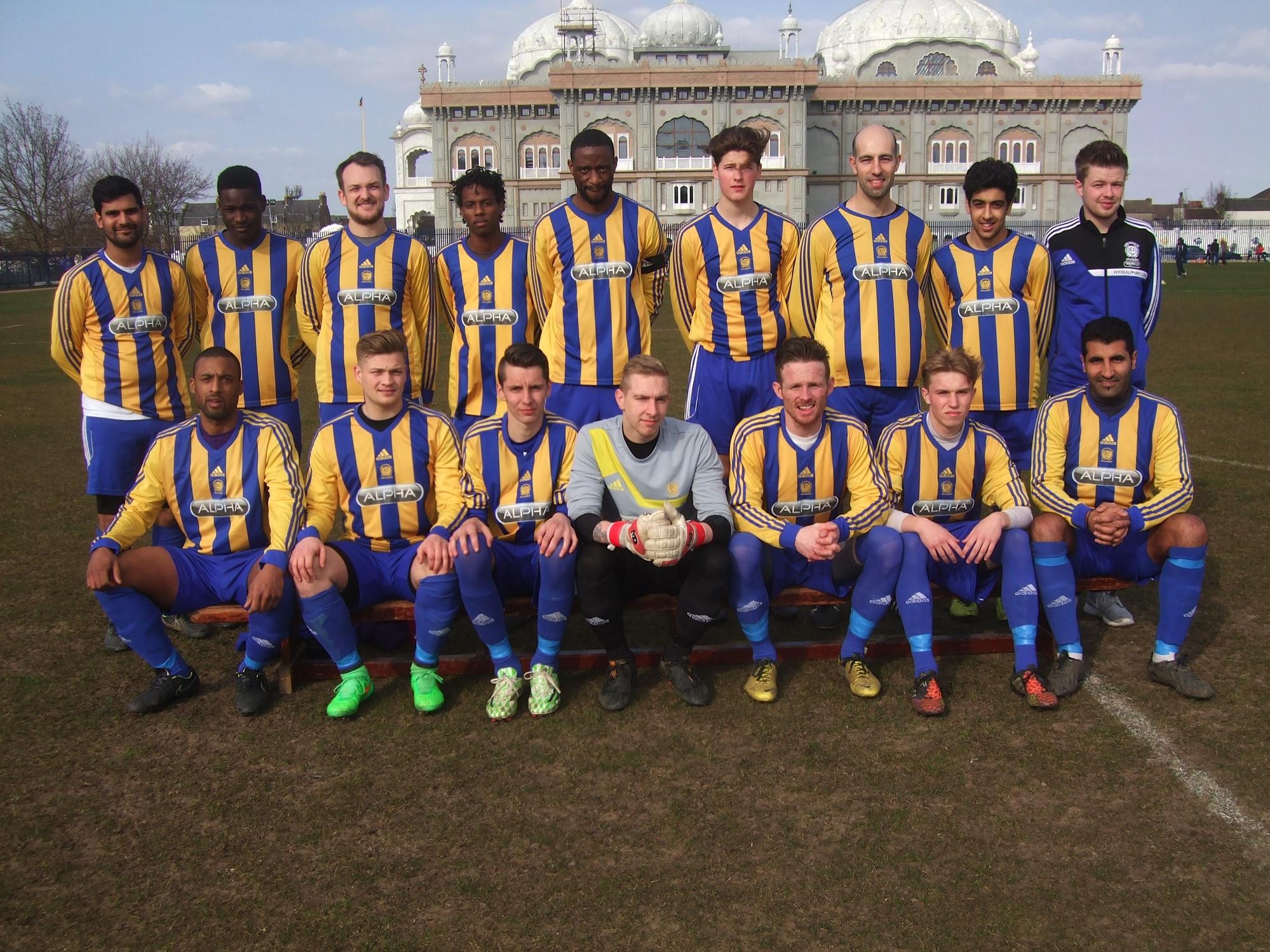 Sat Reserves Squad 2014-15