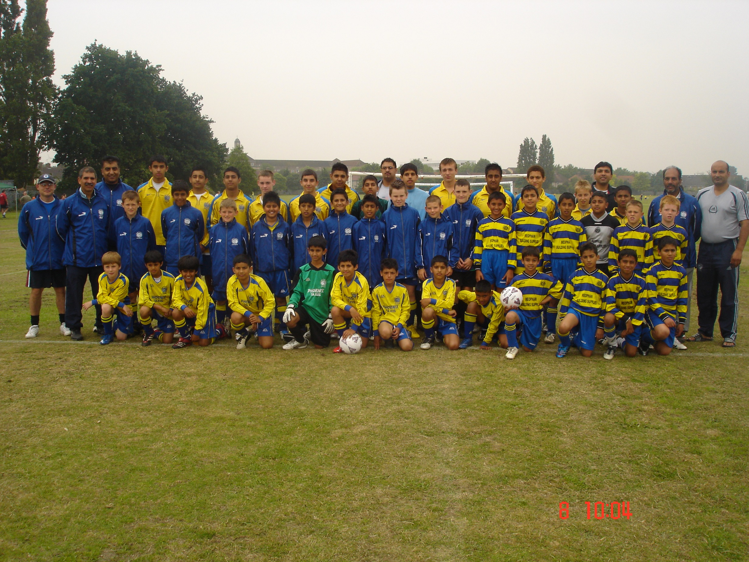 The Youth Teams at Barking 2007