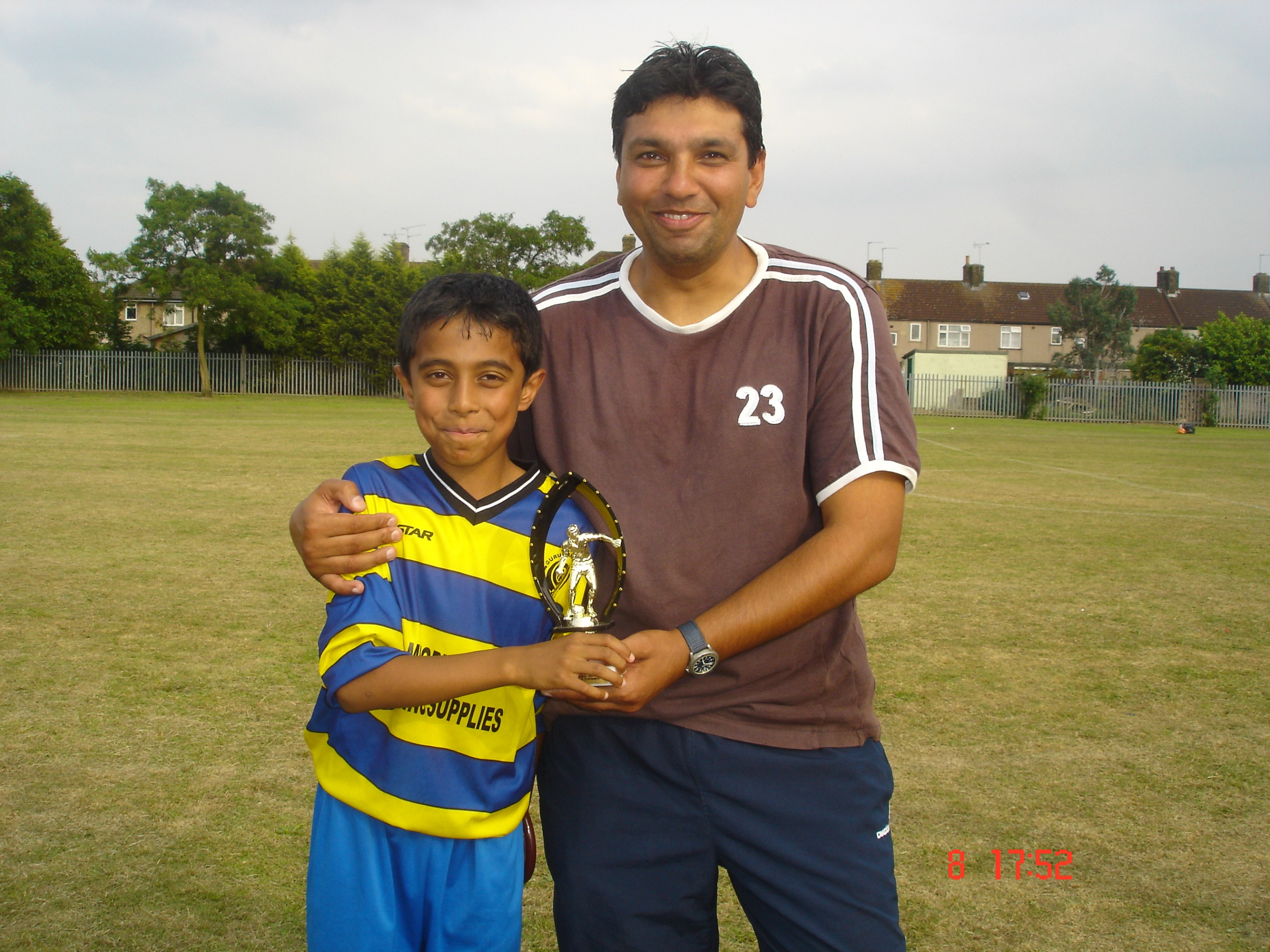 U10s Barking 2007 player of tournament - Arun Suman