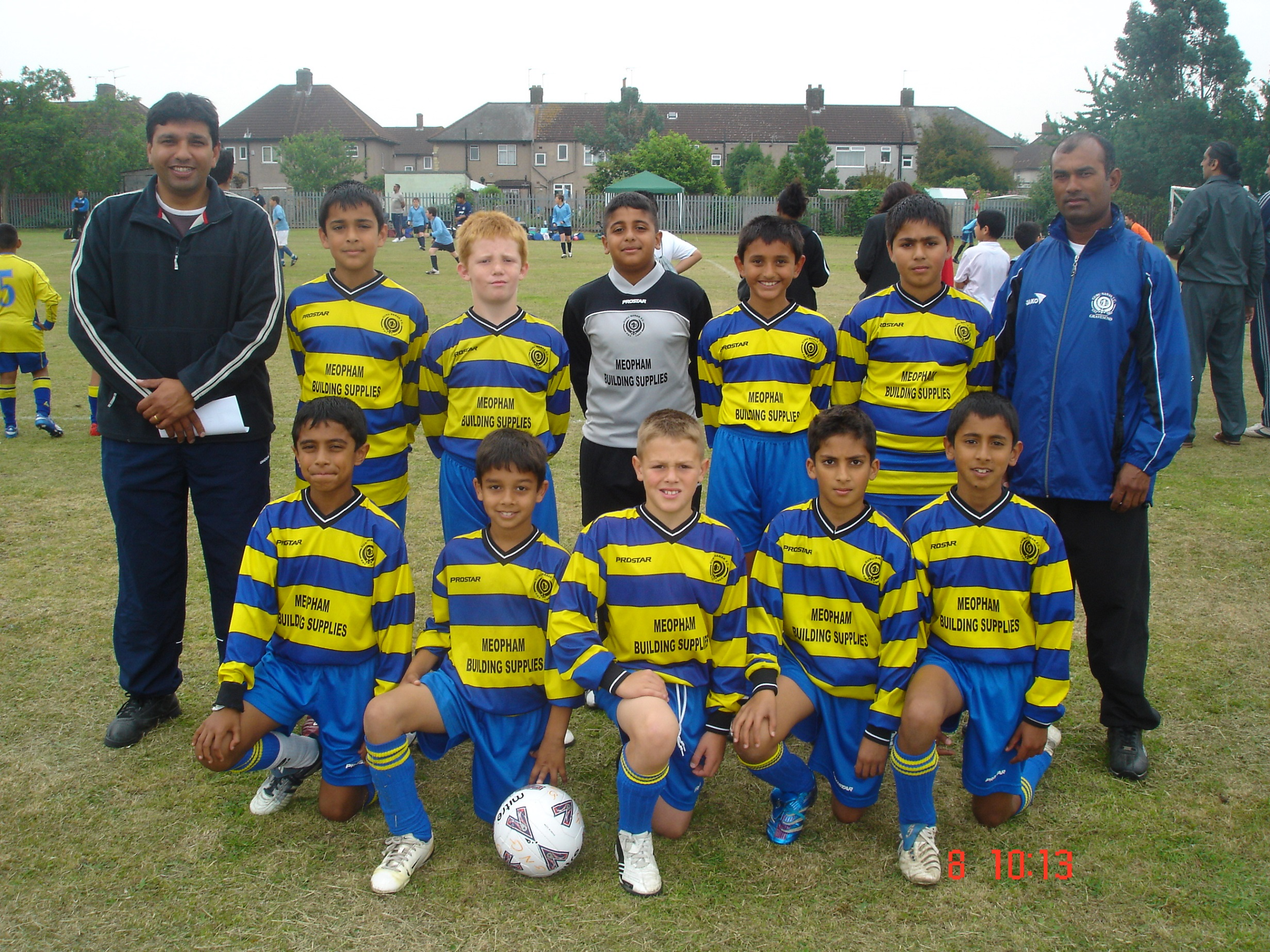 U10s at Barking 2007