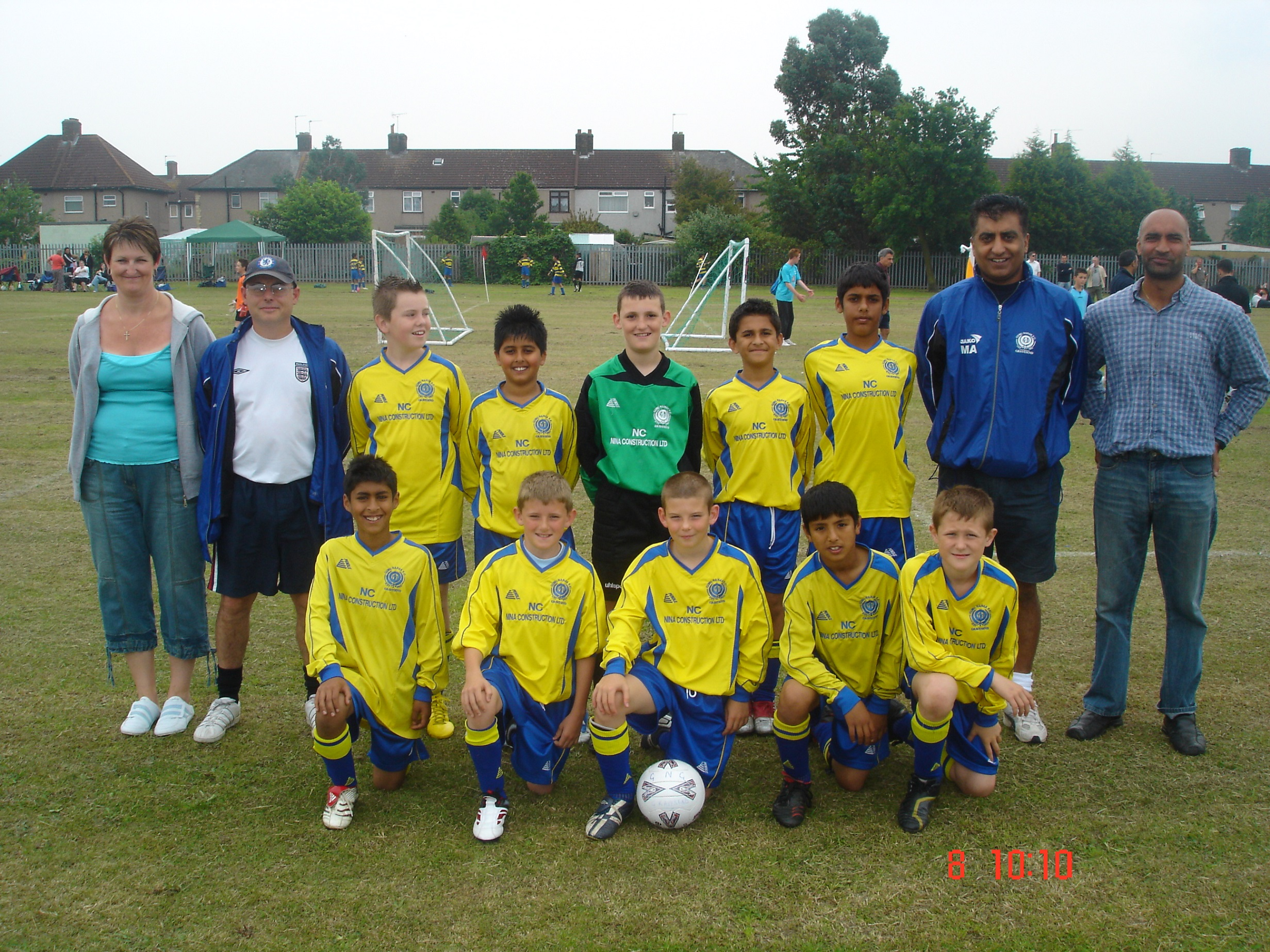 U11s at Barking 2007