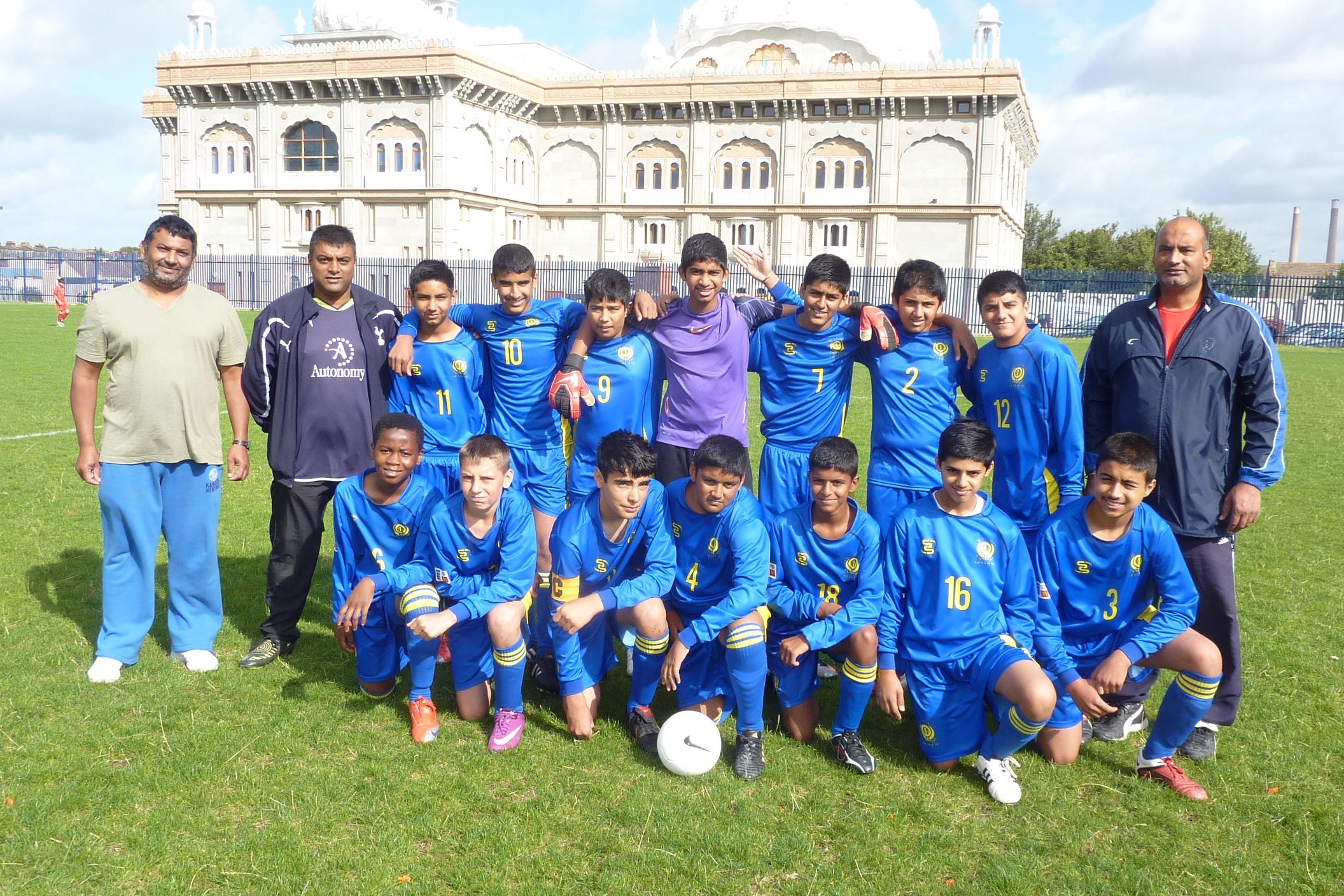 U14 Squad 2011-12