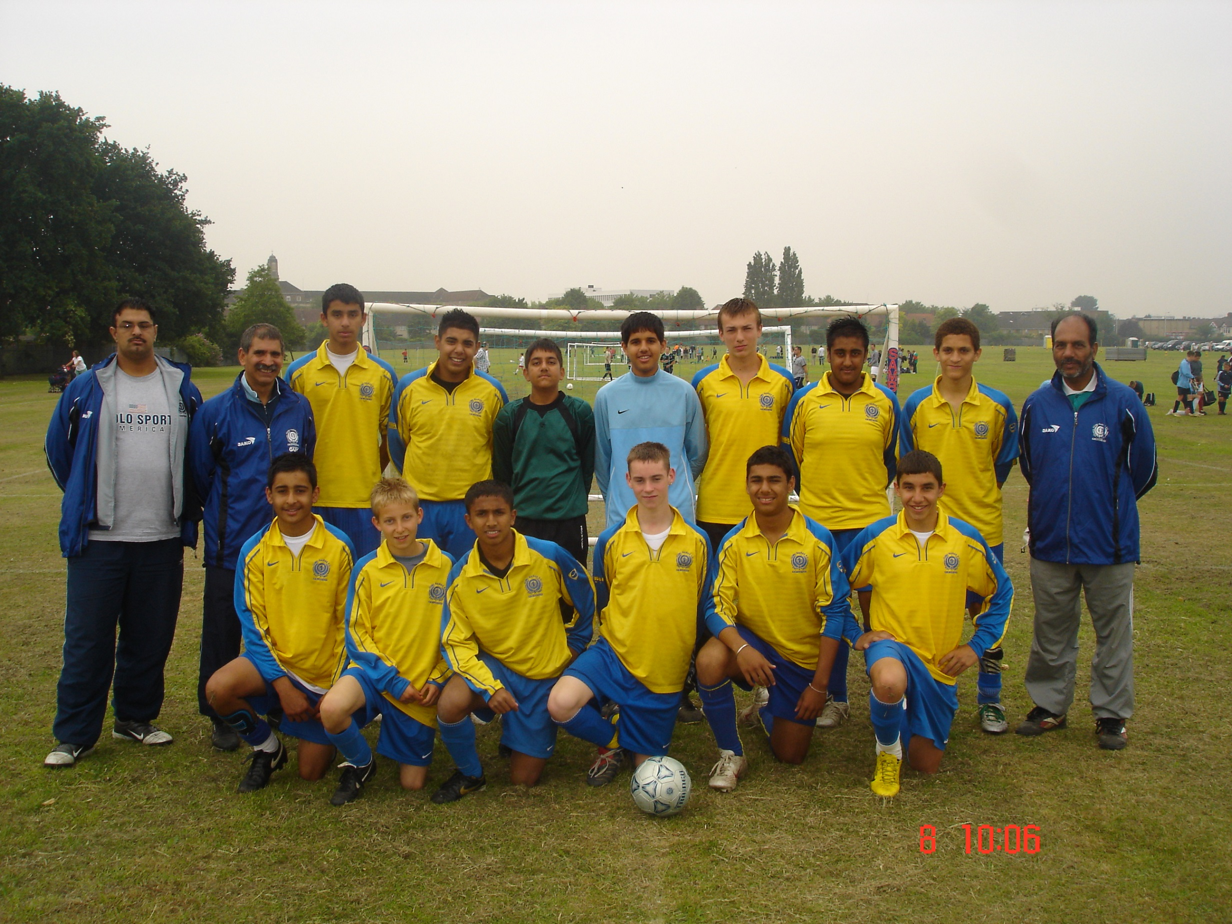U15s at Barking 2007