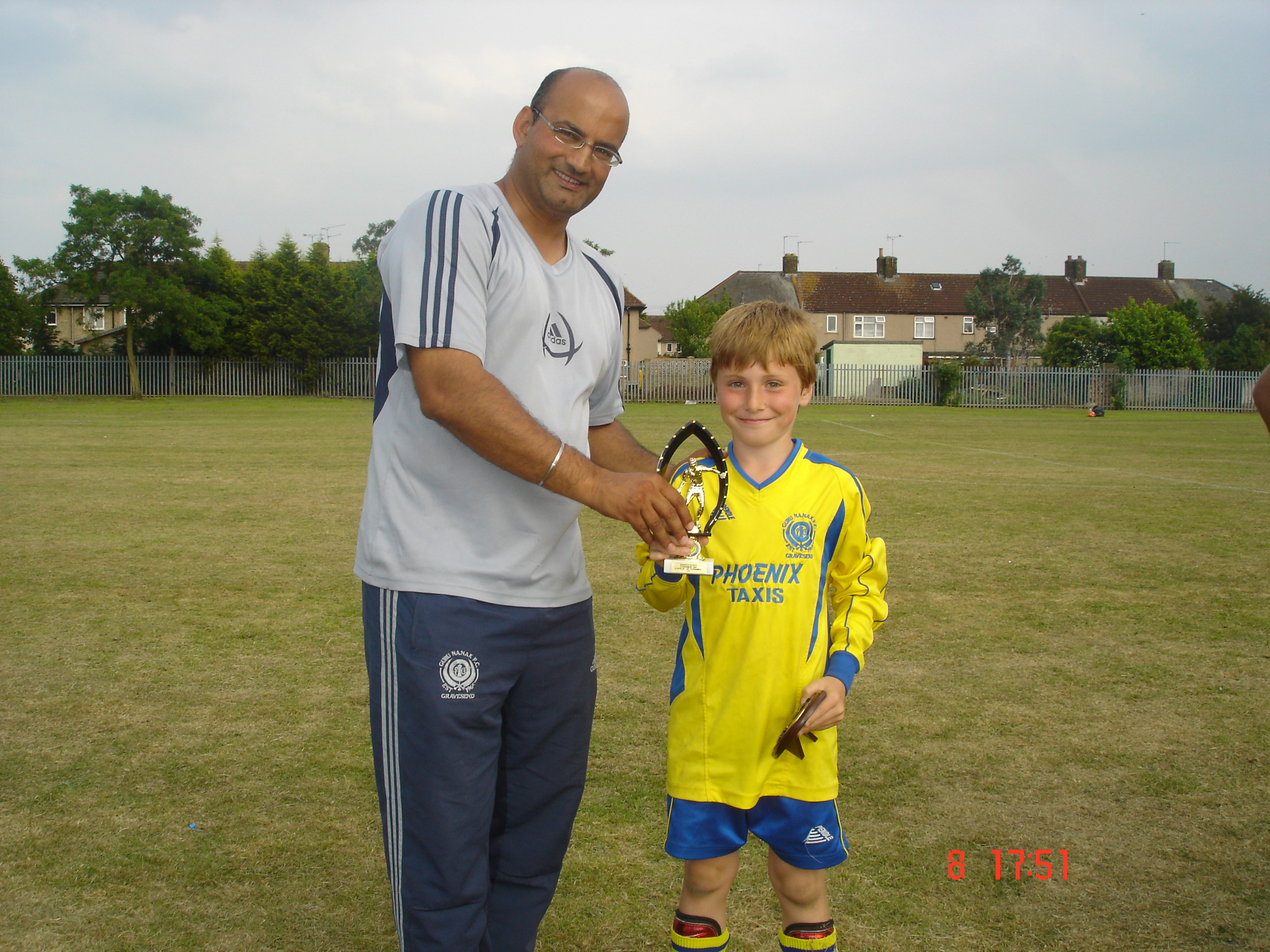U9s Barking 2007 player of tournament - Alex Fialho