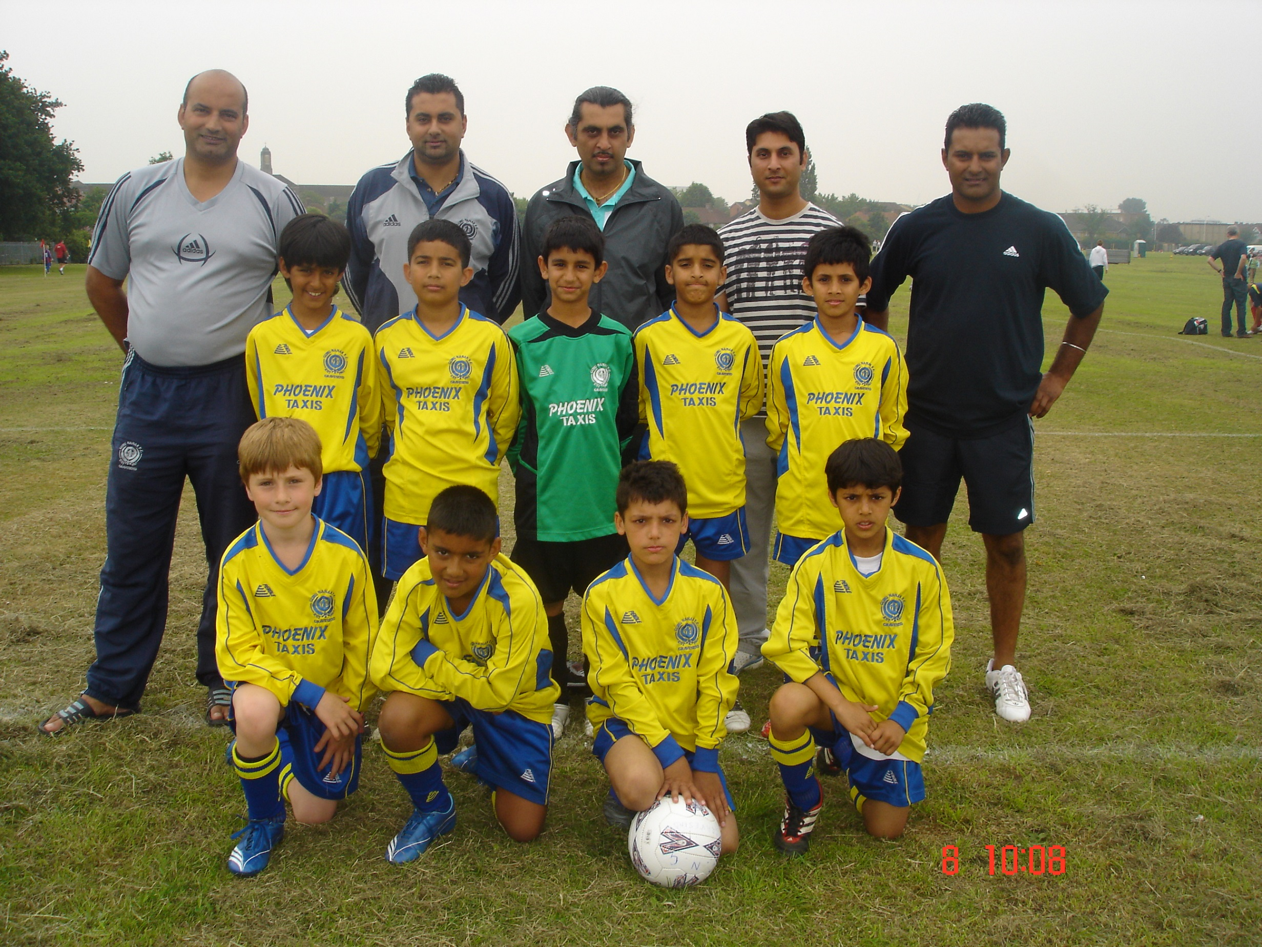U9s at Barking 2007