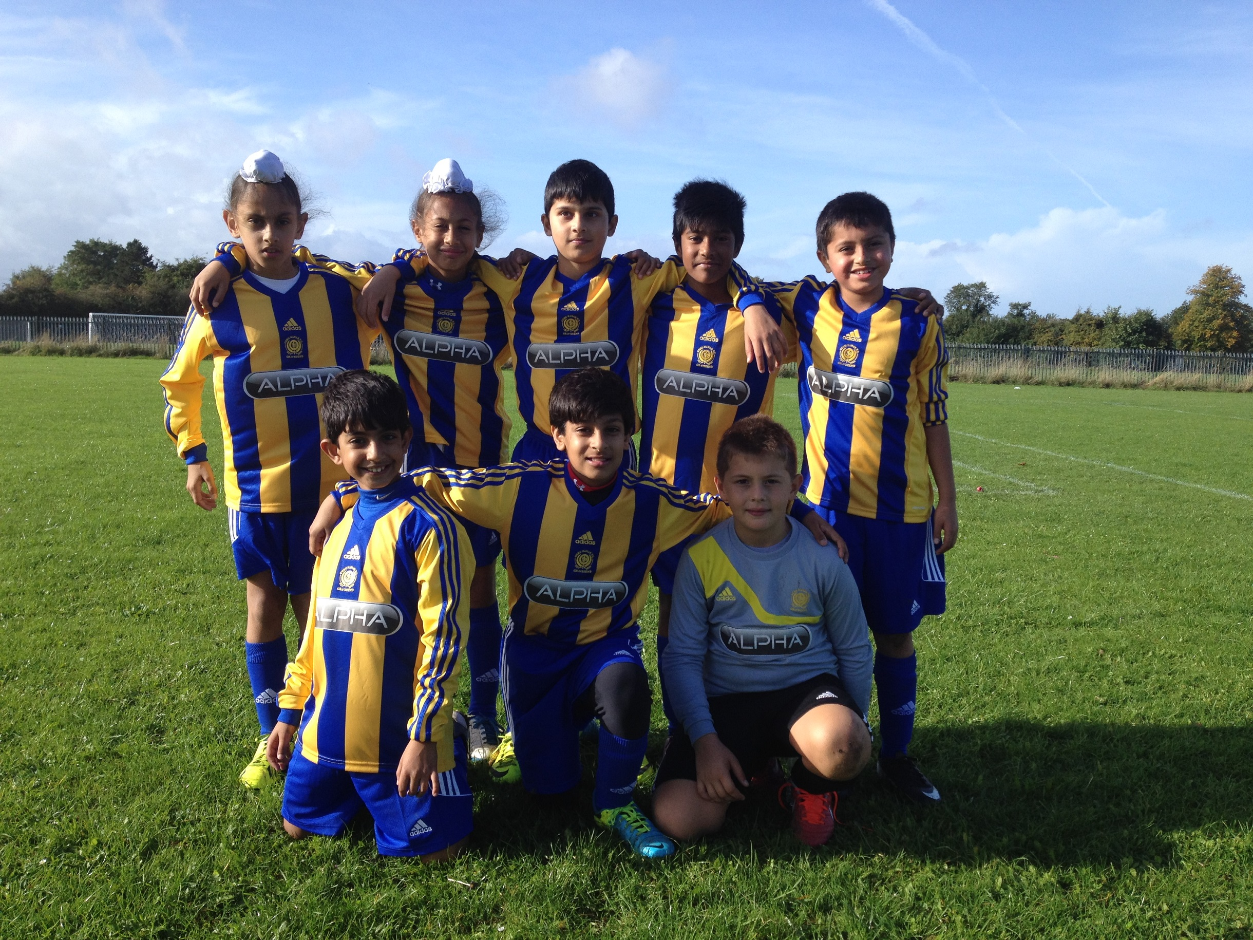 Under 10s Yellow 2013-14 Season