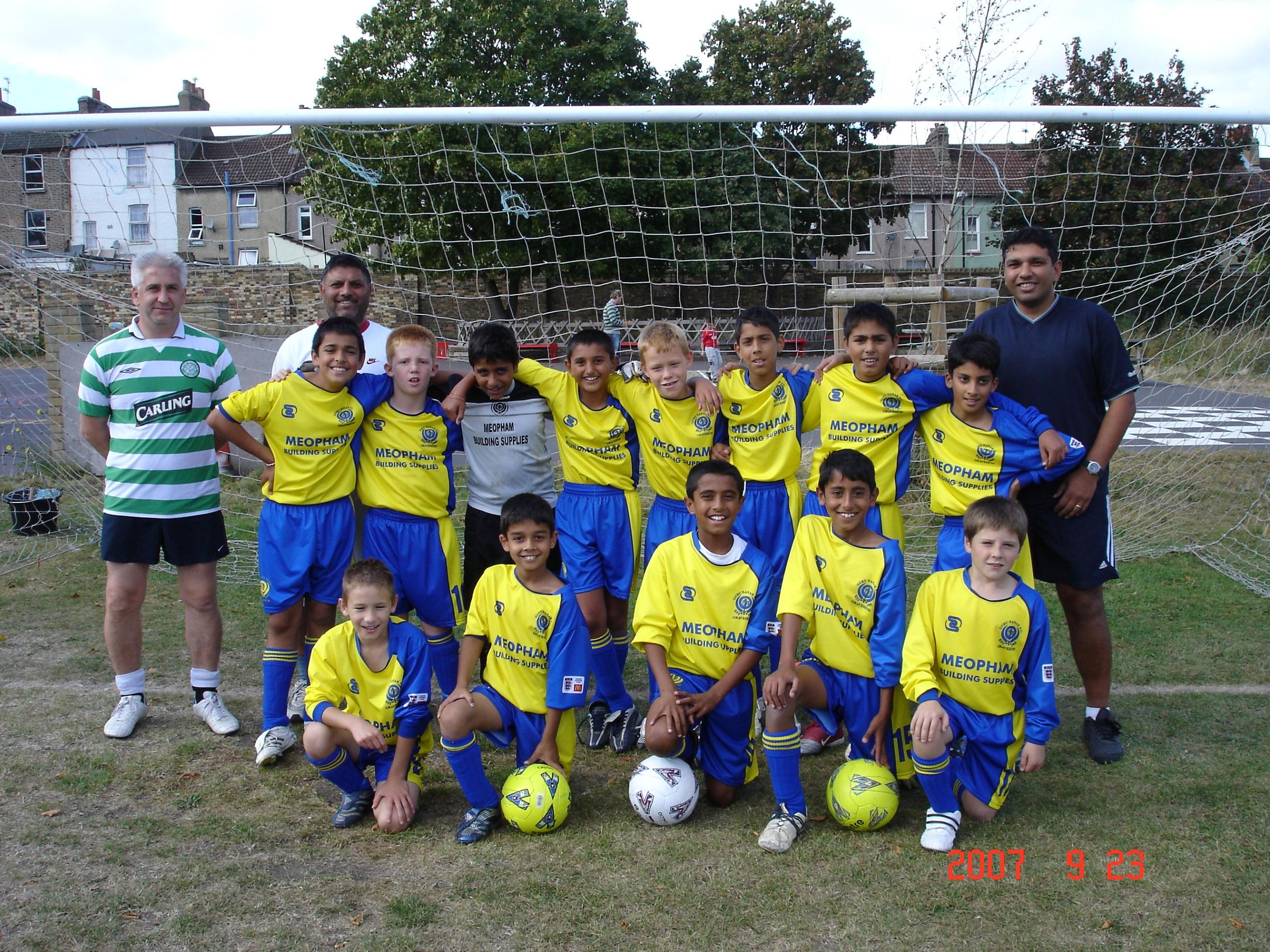 Under 11s 2007-8