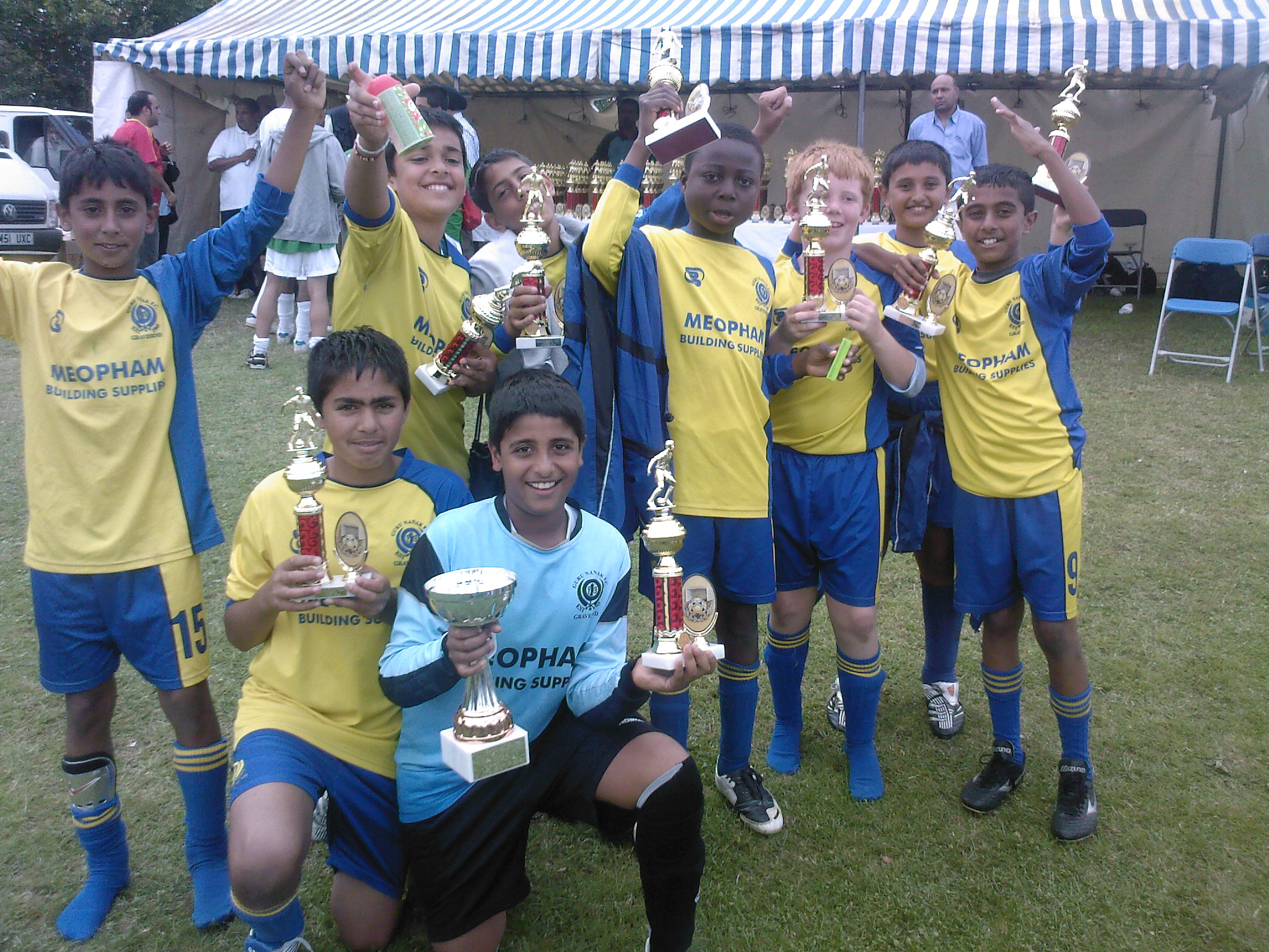 U11's Derby Tournament  Winners 2008
