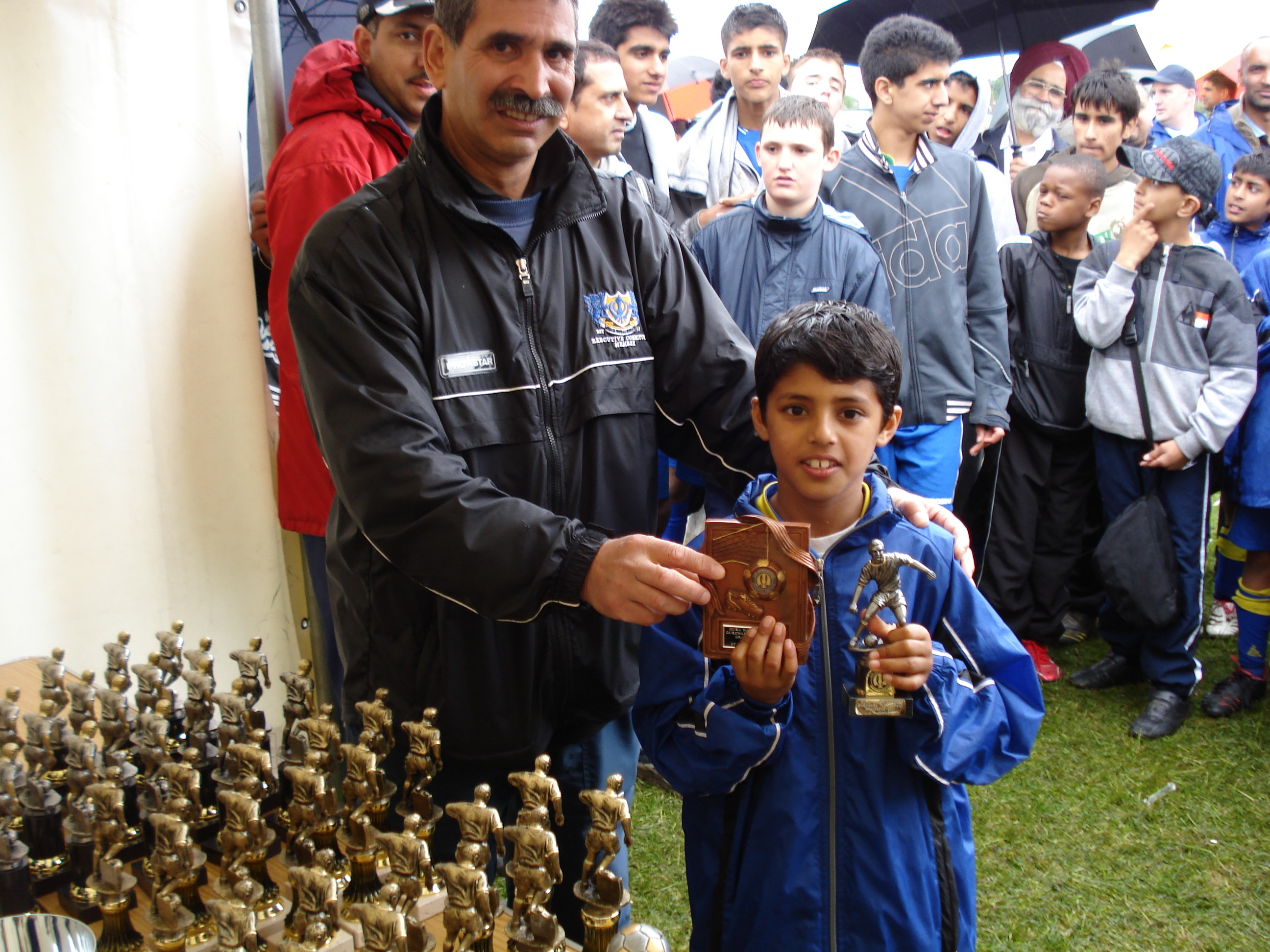 Under 9's Player Of The Tournament - Umair Ashraf