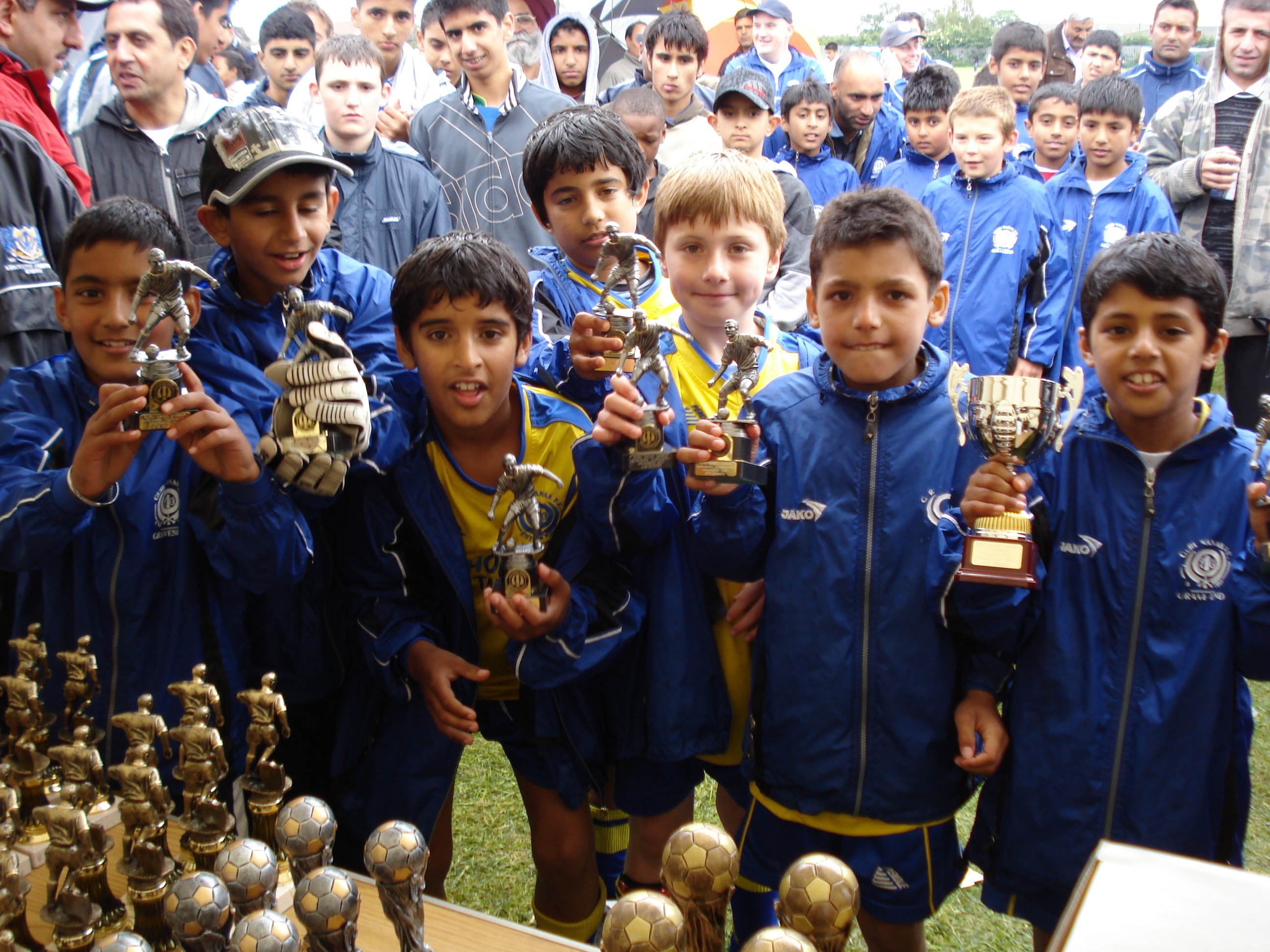 Under 9's Winners - Gravesend Tournament 2007
