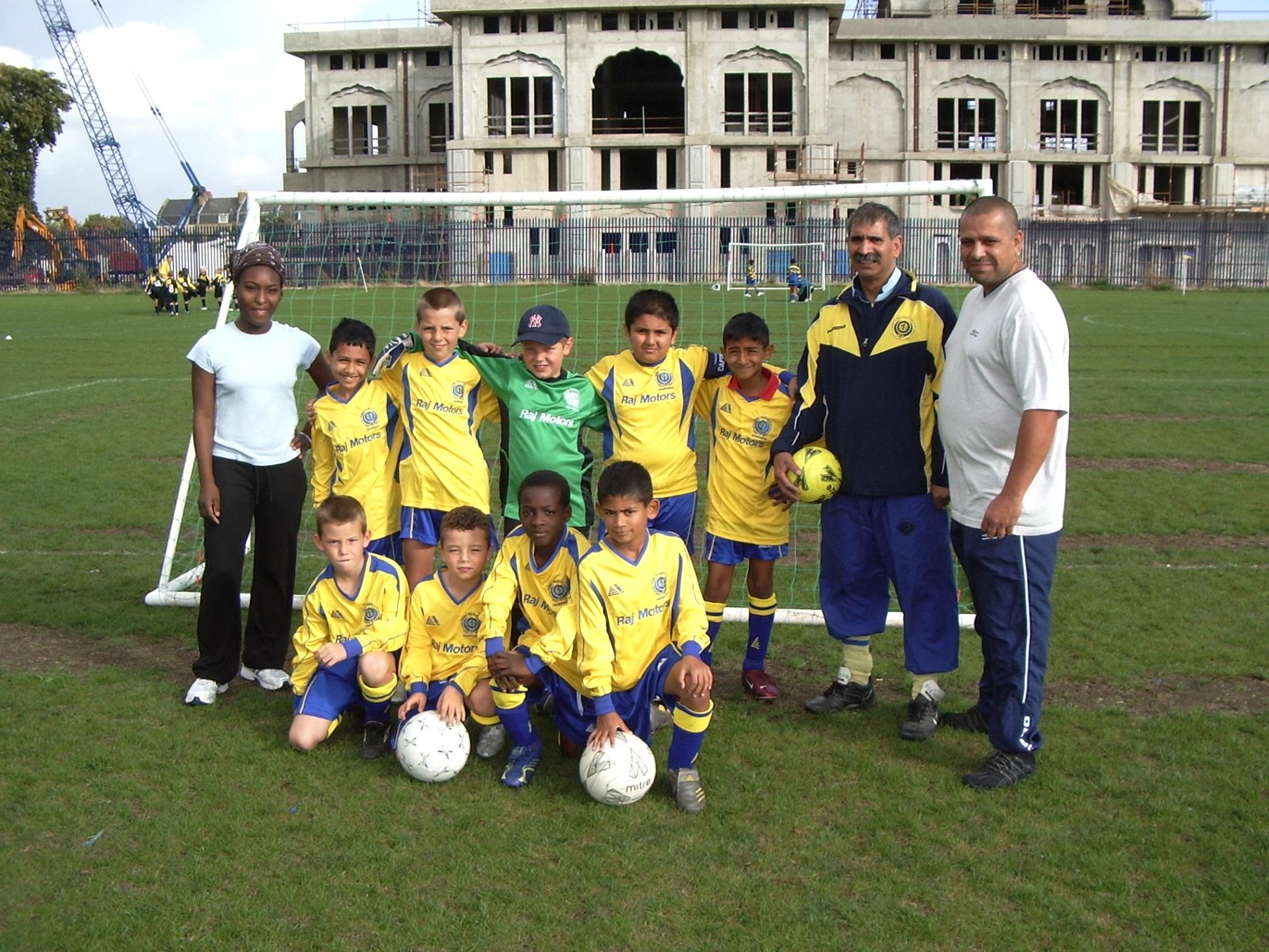 Under 9s B Team 2006-7