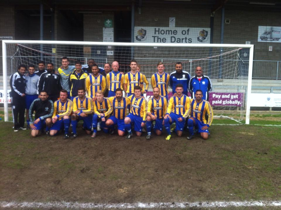G&M Motors Cup Final Squad 2013/14