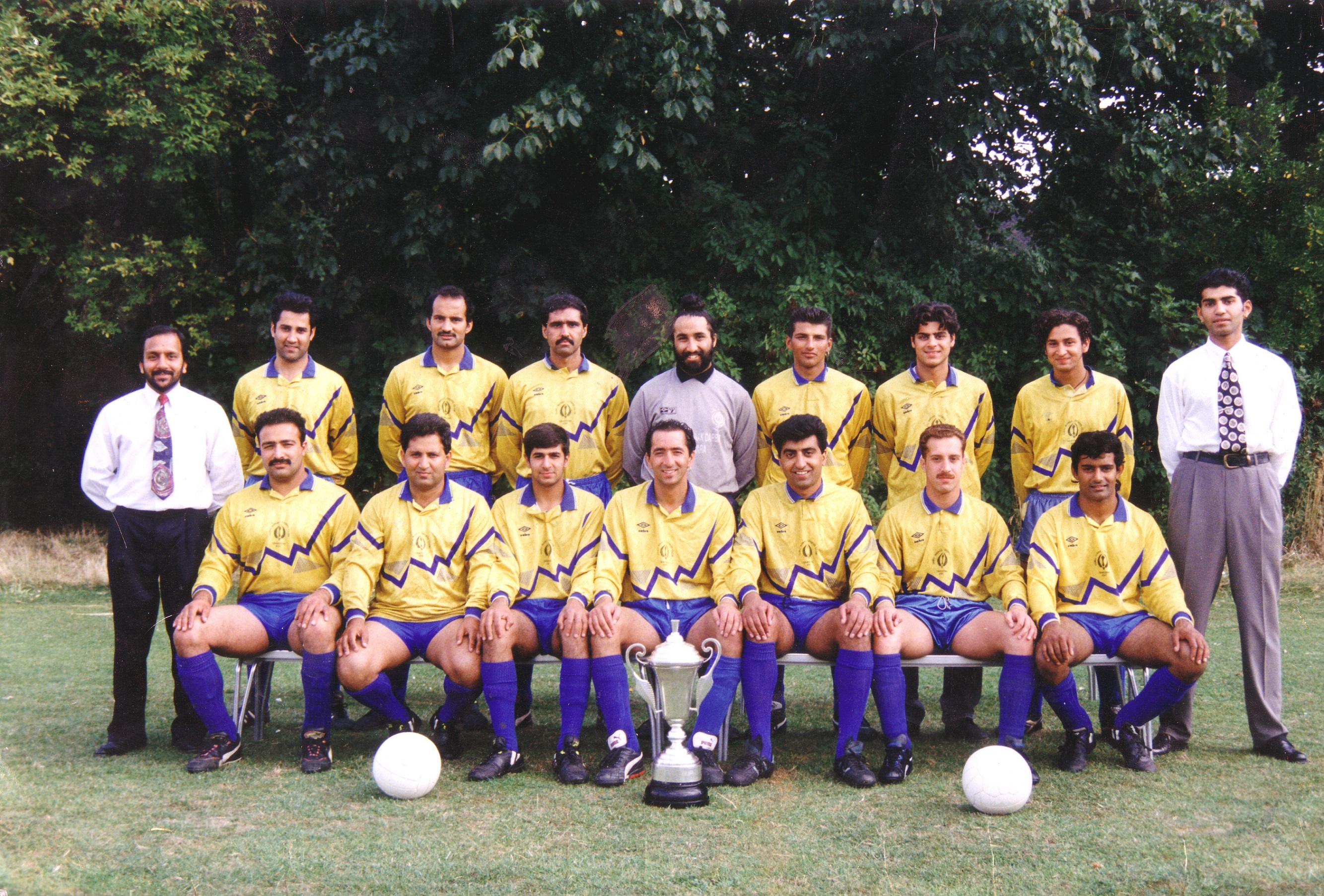 Saturday A Team 1990/1991 season