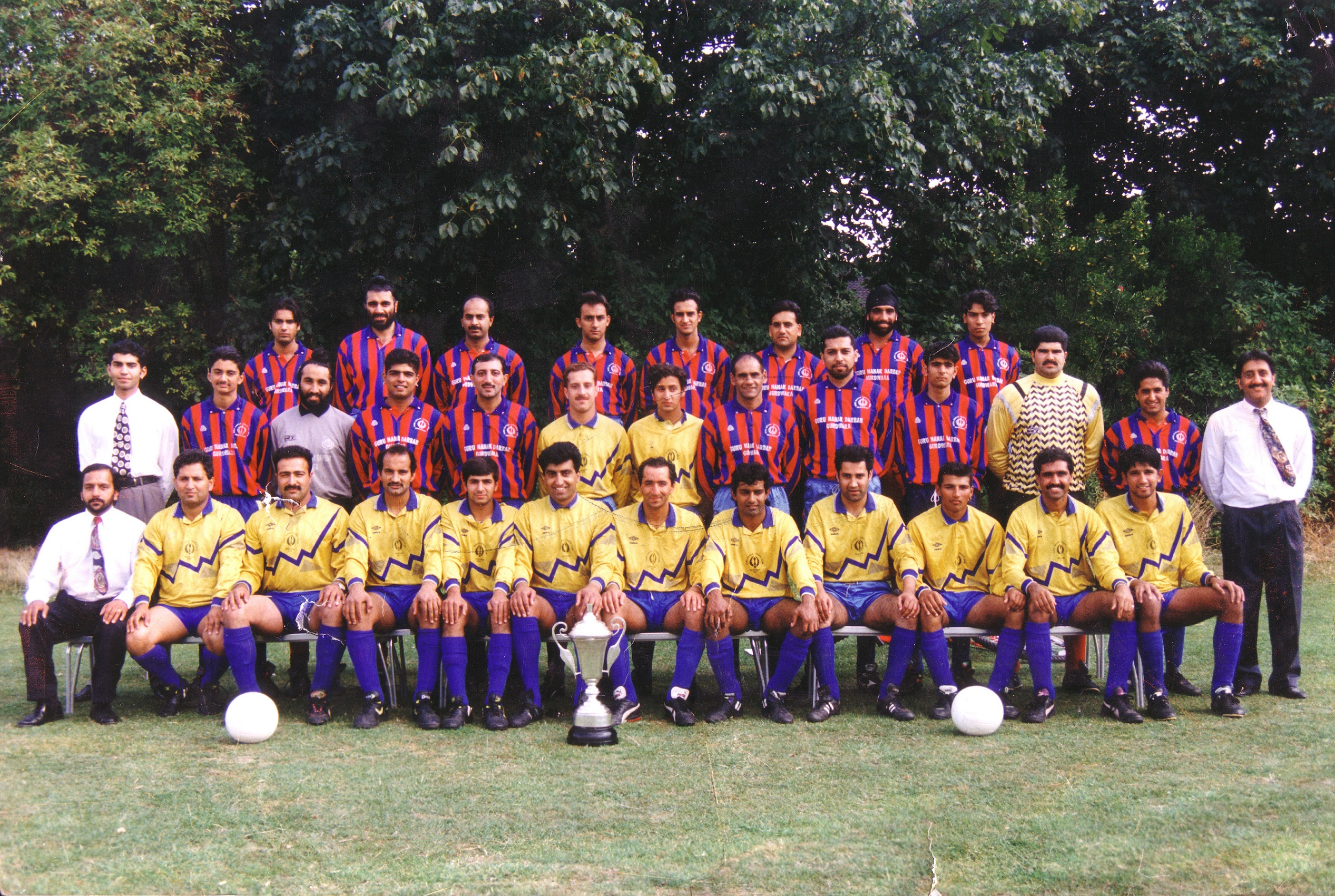 Saturday A and B Squad photo 1990/91 season
