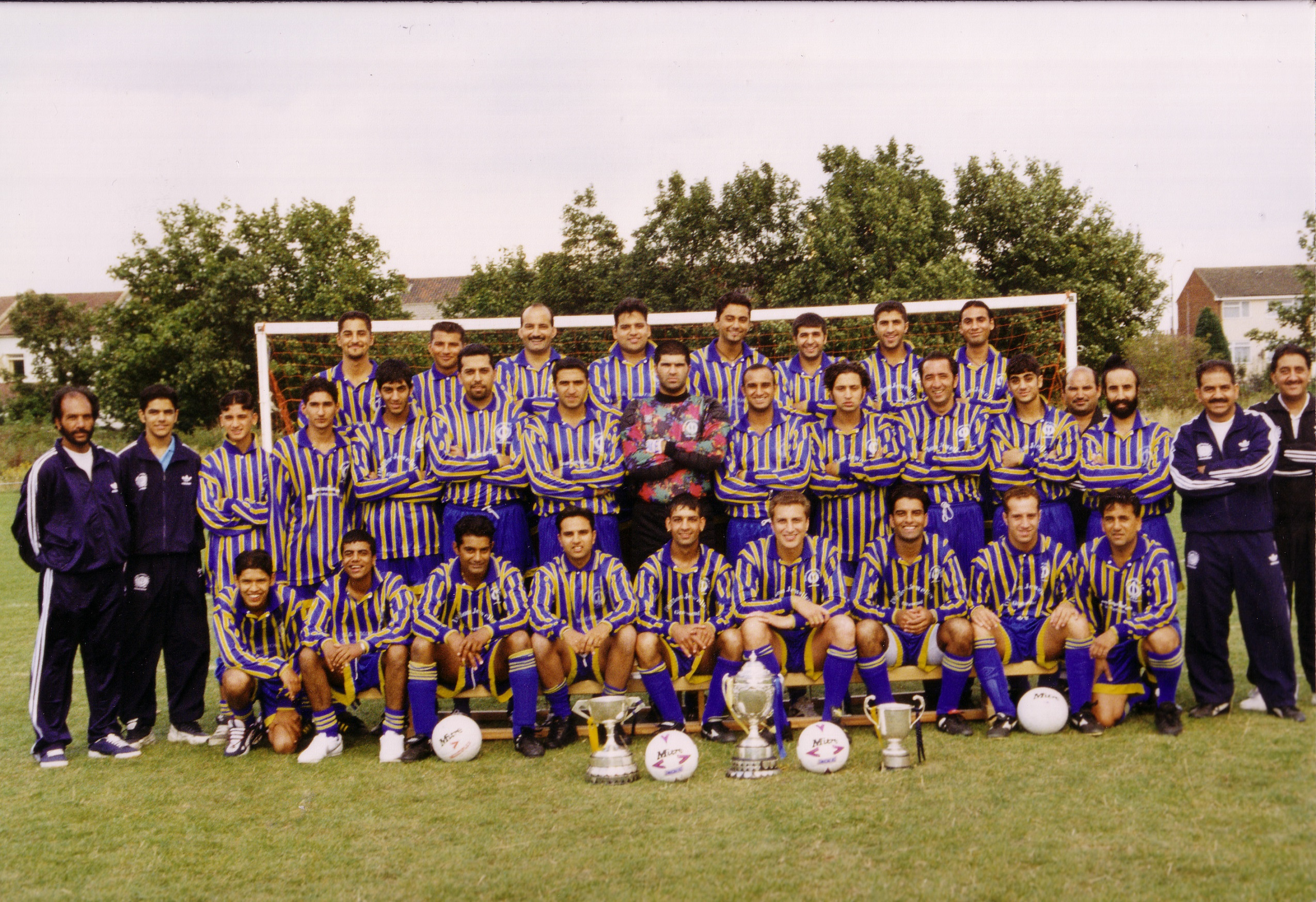 Saturday A and B Squad photo 1995/1996 Season
