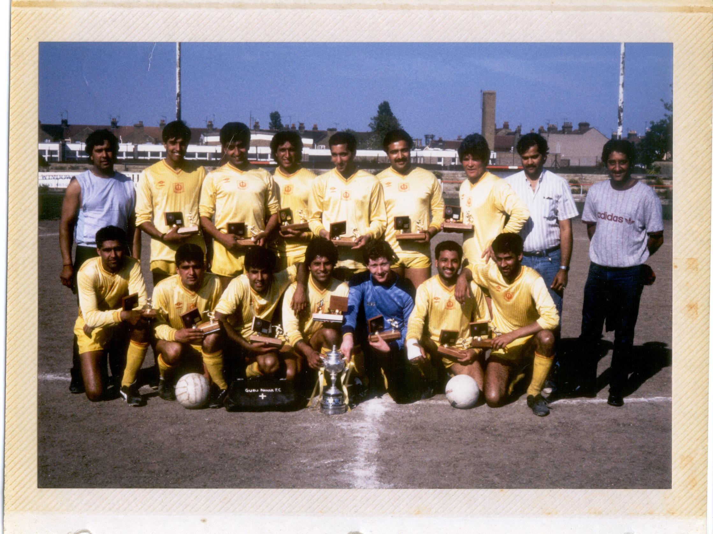 Kent Cup Winners 1986/87
