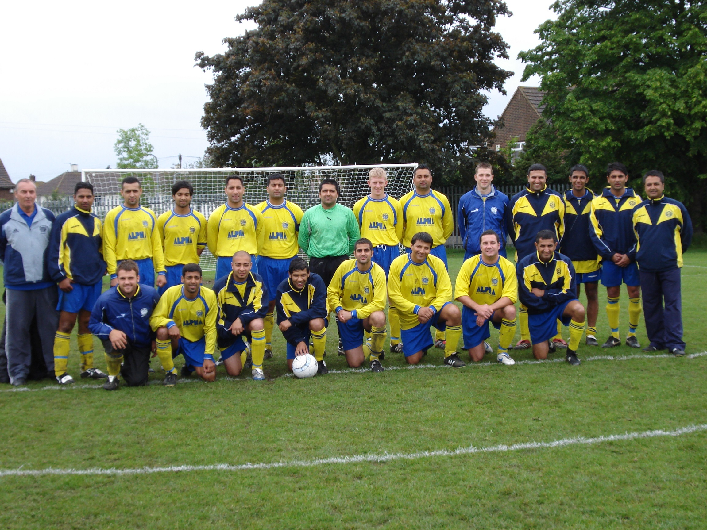 KFF Gravesend Tournament Squad 2007