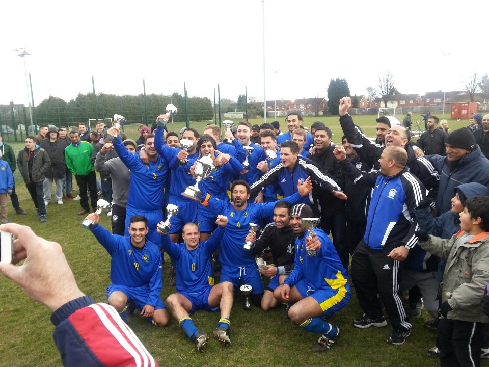 Senior Cup Winners 2013