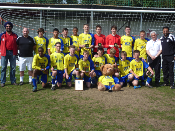 Under 16's Kent Cup Winners 2010