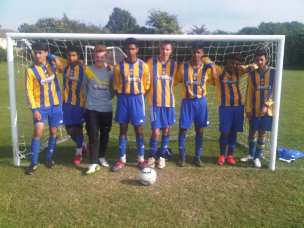 2014 - U16 Kent Football Utd Tournament Winners