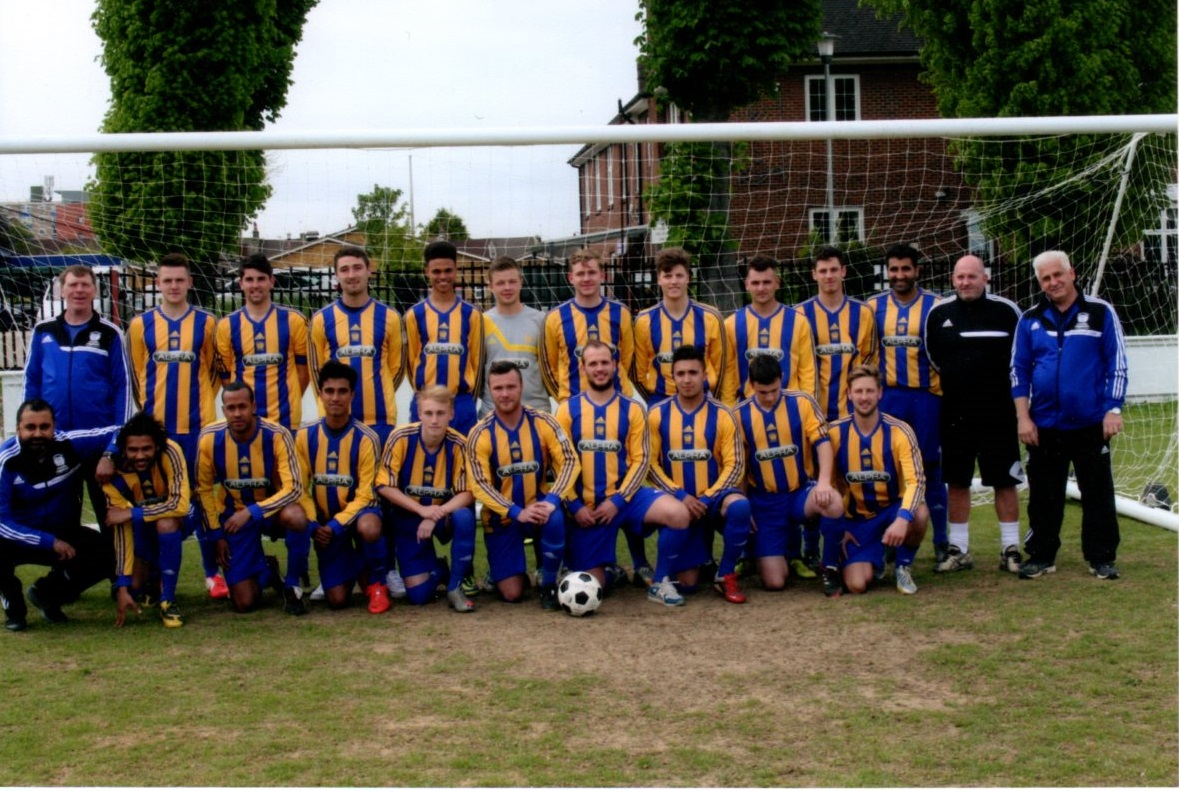 Kent County League Division 1 East Winning Squad