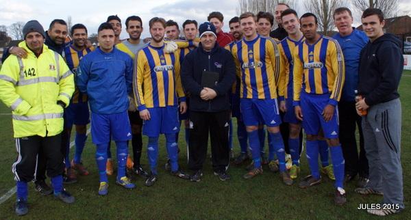 Dec 2014 Manager of the Month Winner - Kent League Website